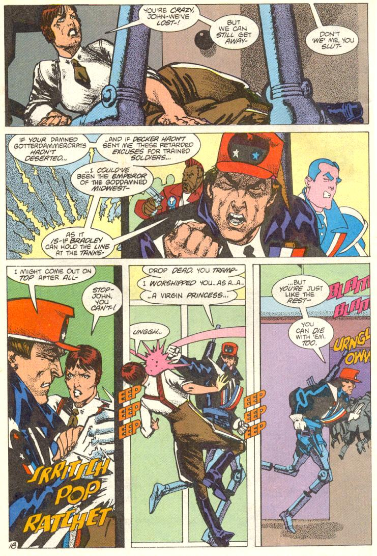 Read online American Flagg! comic -  Issue #12 - 19
