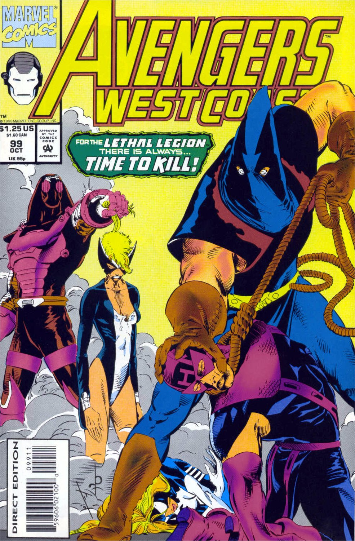 Avengers West Coast (1989) 99 Page 1