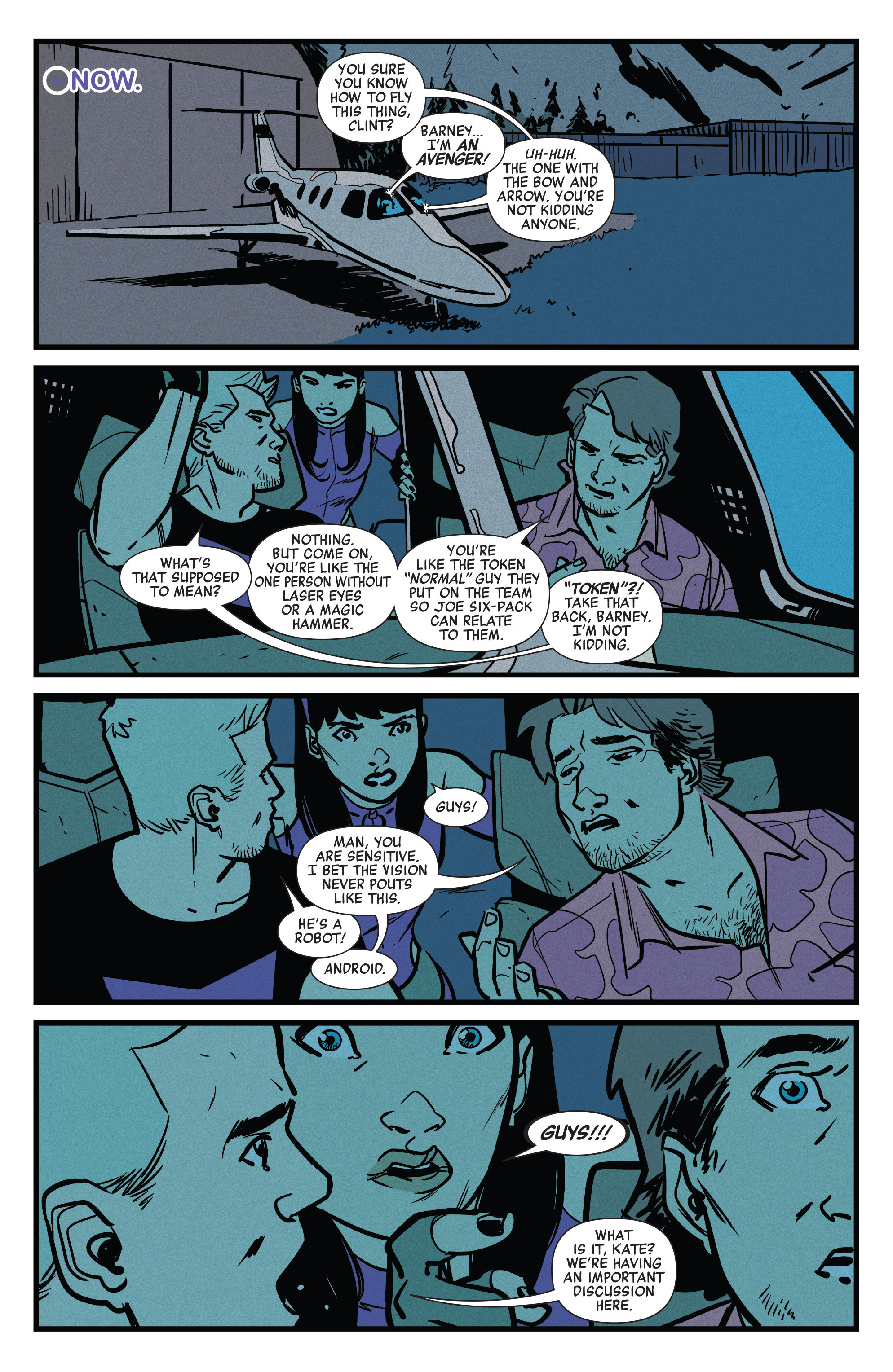 Read online All-New Hawkeye (2016) comic -  Issue #6 - 6