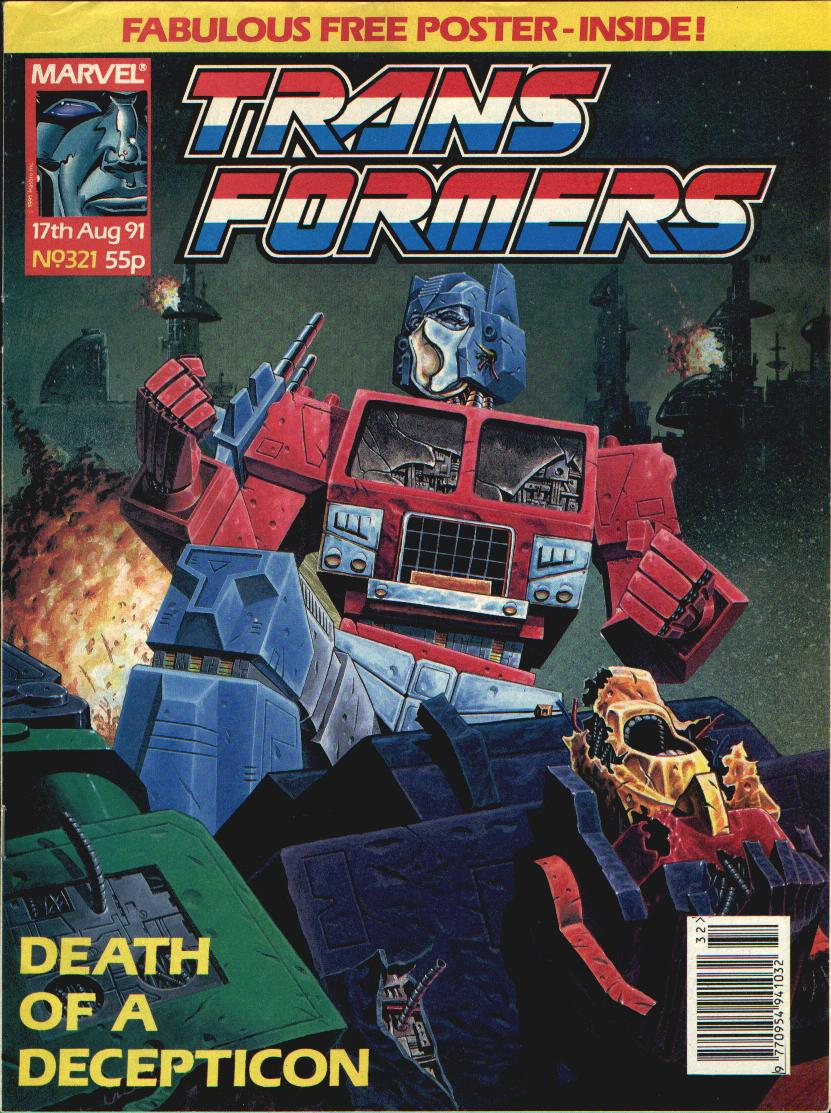The Transformers (UK) 321 Page 1