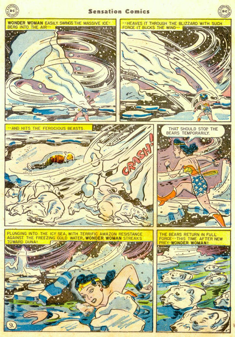 Read online Sensation (Mystery) Comics comic -  Issue #65 - 10