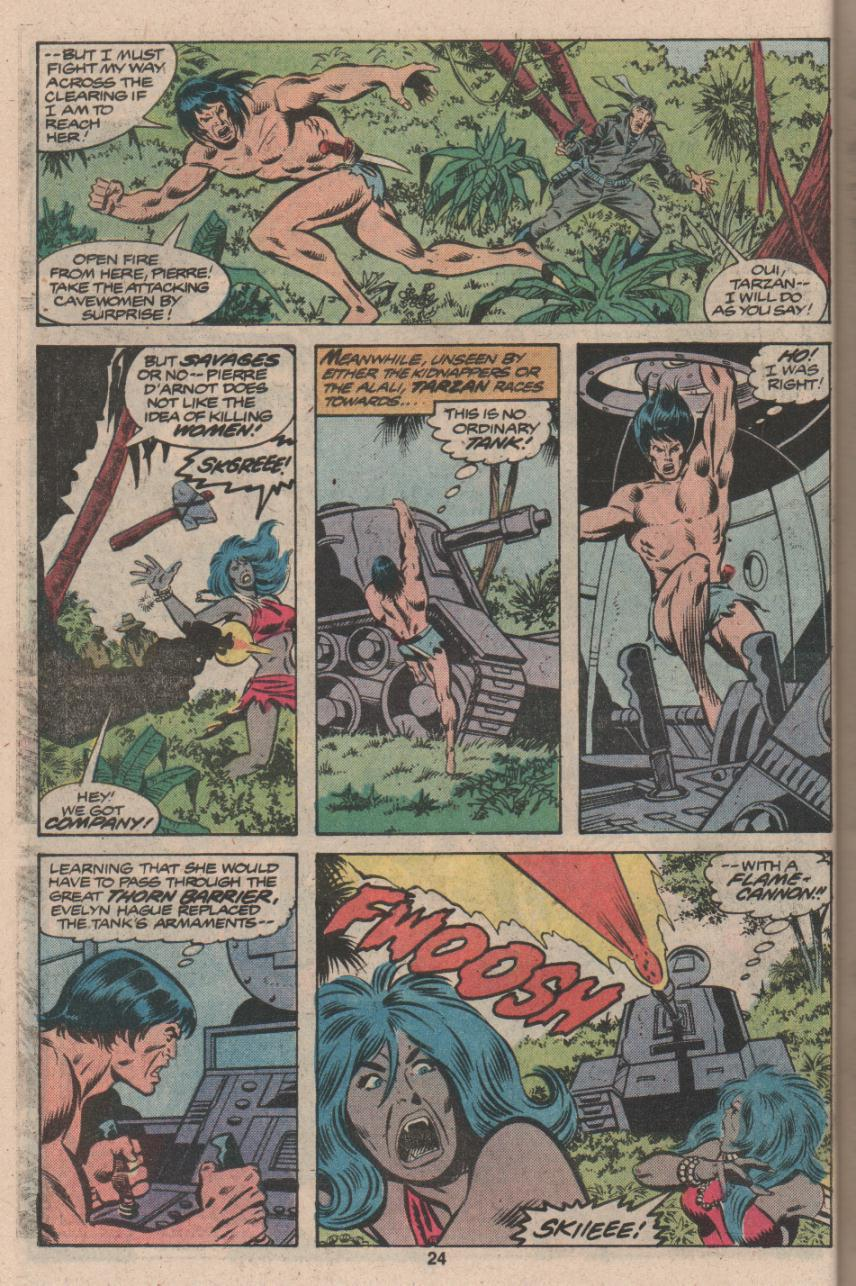 Read online Tarzan (1977) comic -  Issue # _Annual 3 - 19