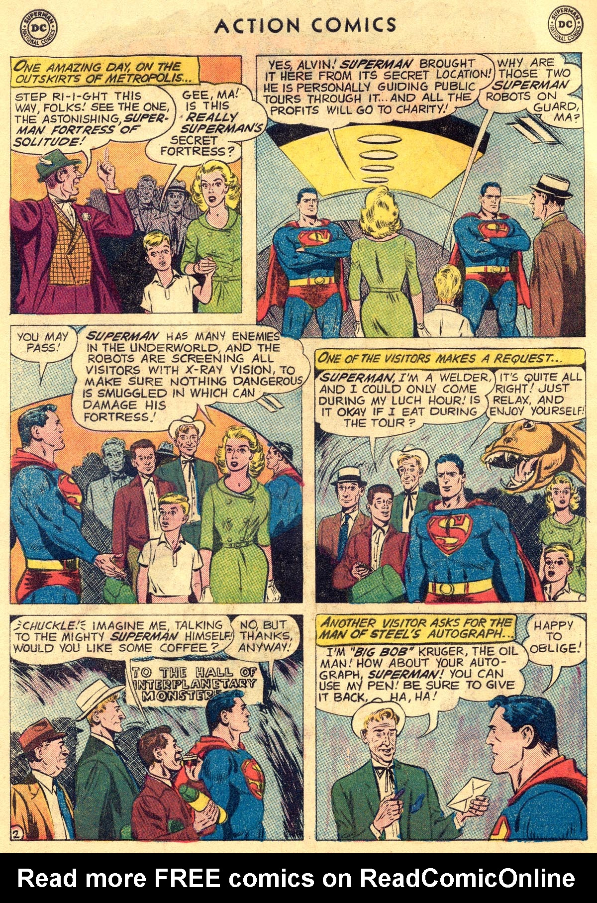 Read online Action Comics (1938) comic -  Issue #261 - 4