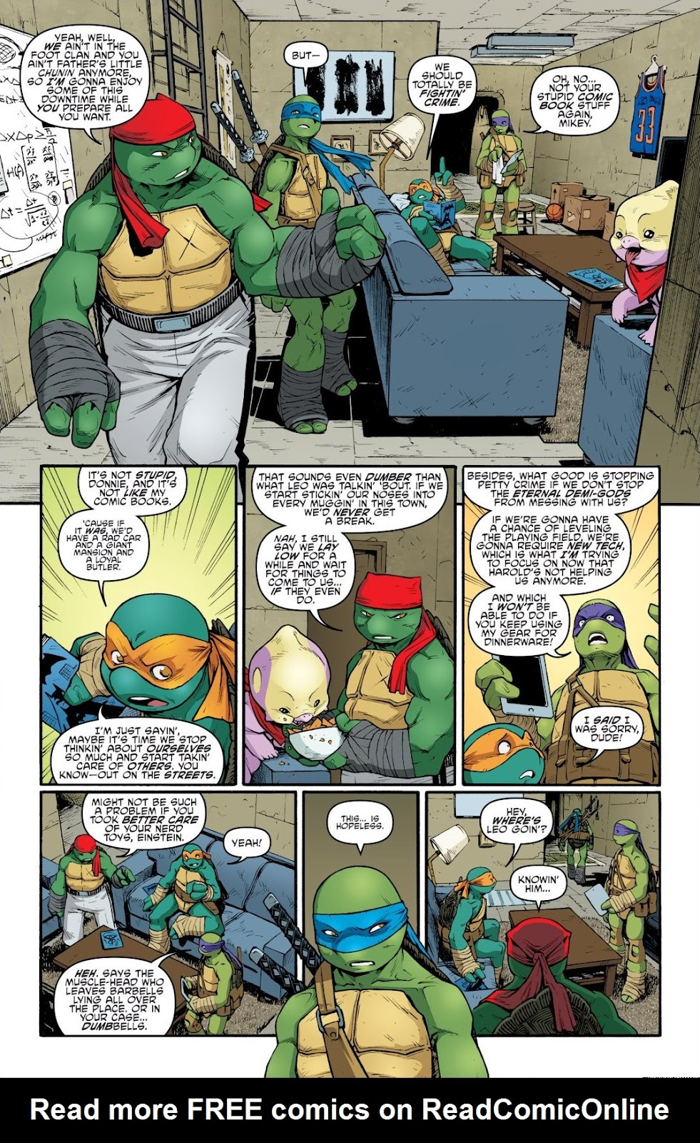 Read online Teenage Mutant Ninja Turtles: The IDW Collection comic -  Issue # TPB 9 (Part 1) - 15