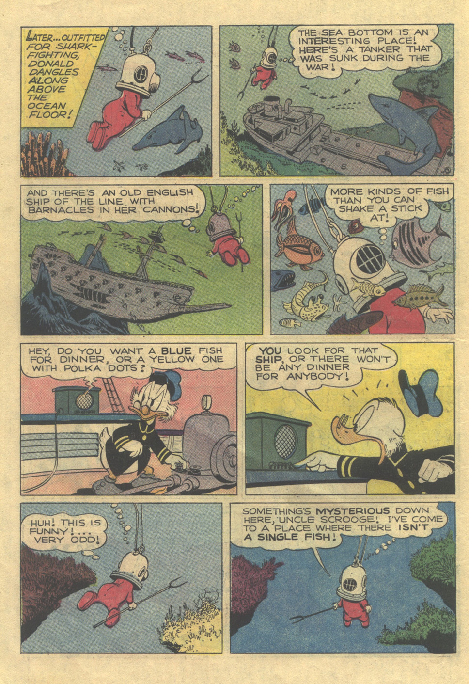 Read online Uncle Scrooge (1953) comic -  Issue #105 - 10