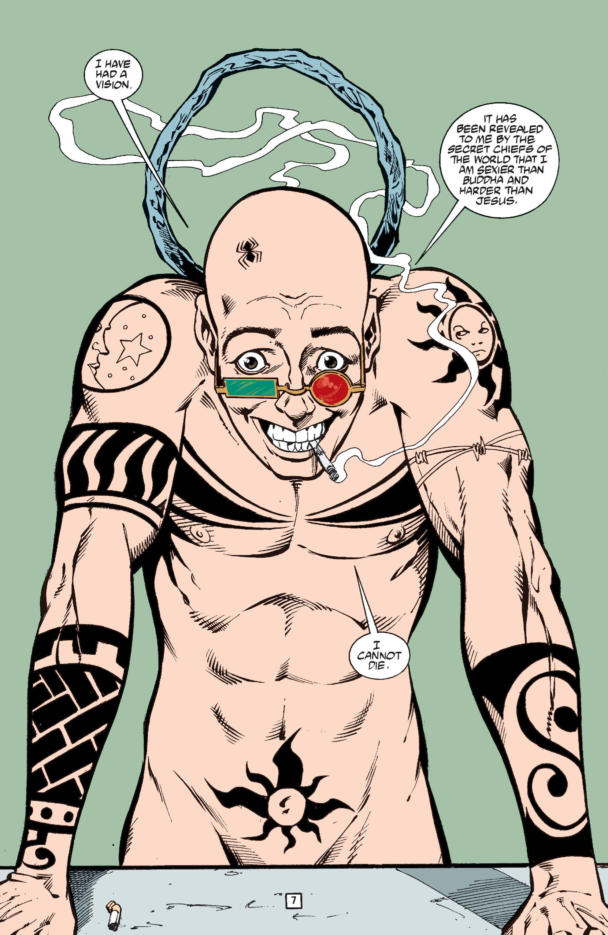 Read online Transmetropolitan comic -  Issue #37 - 8
