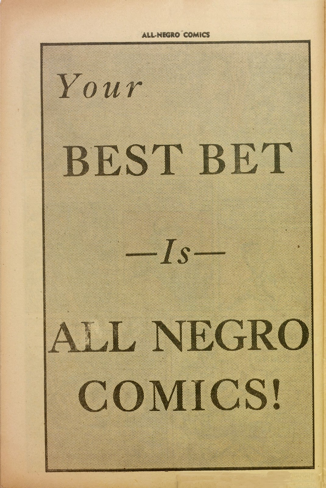 All-Negro Comics issue Full - Page 39