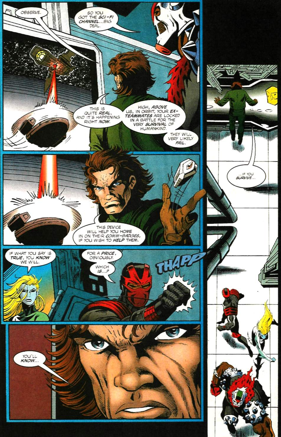 The New Warriors Issue #75 #79 - English 19