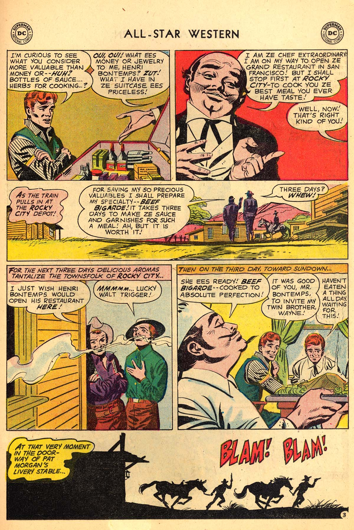 Read online All-Star Western (1951) comic -  Issue #110 - 27
