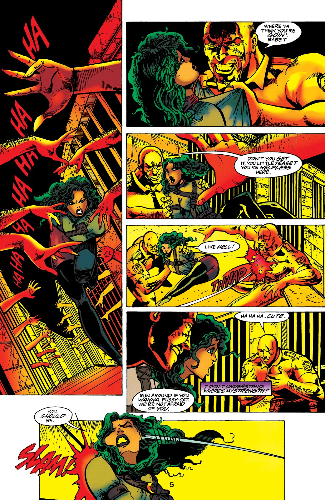 Catwoman (1993) Issue #60 #65 - English 6