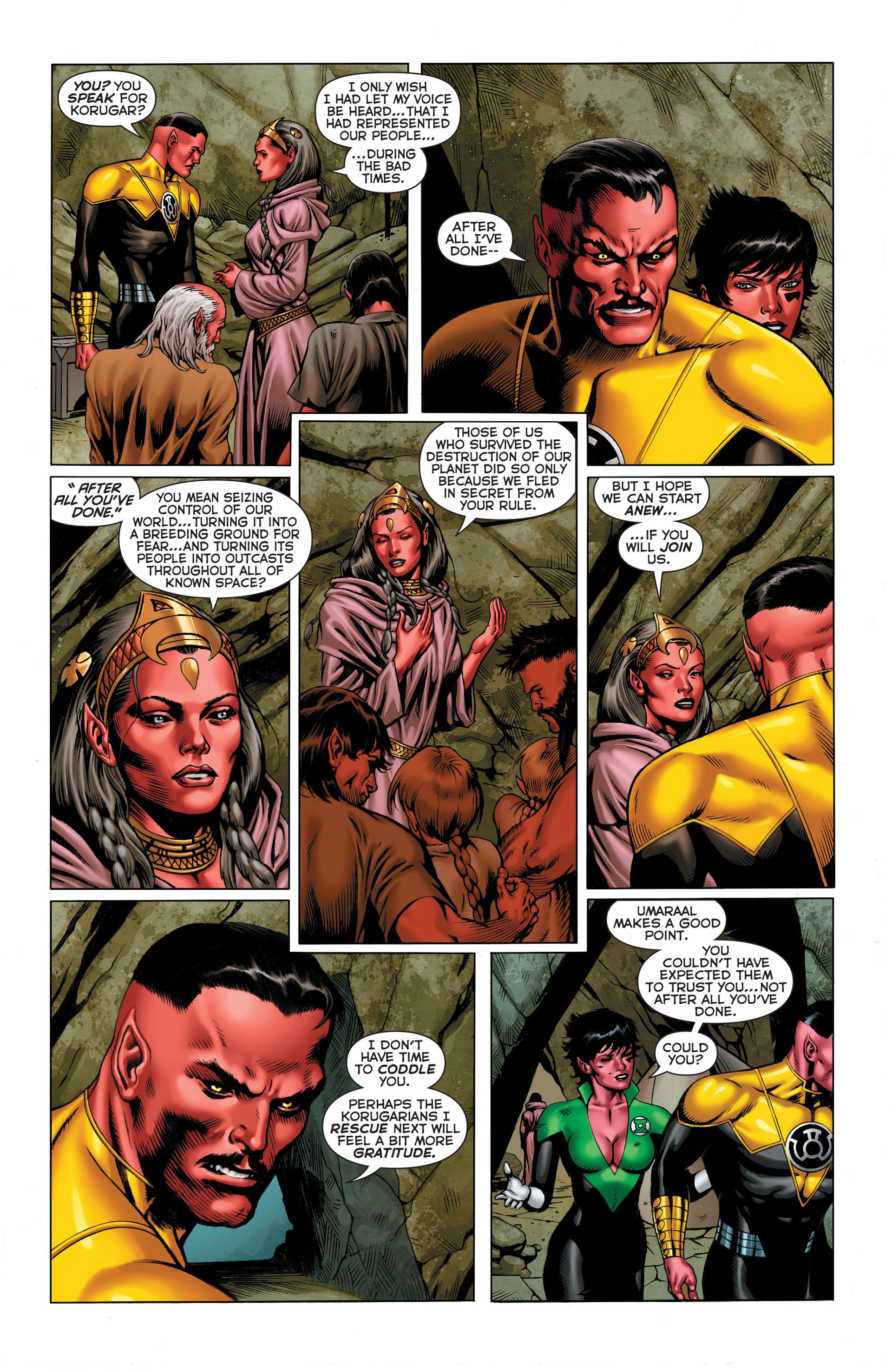 Read online Sinestro comic -  Issue #3 - 8