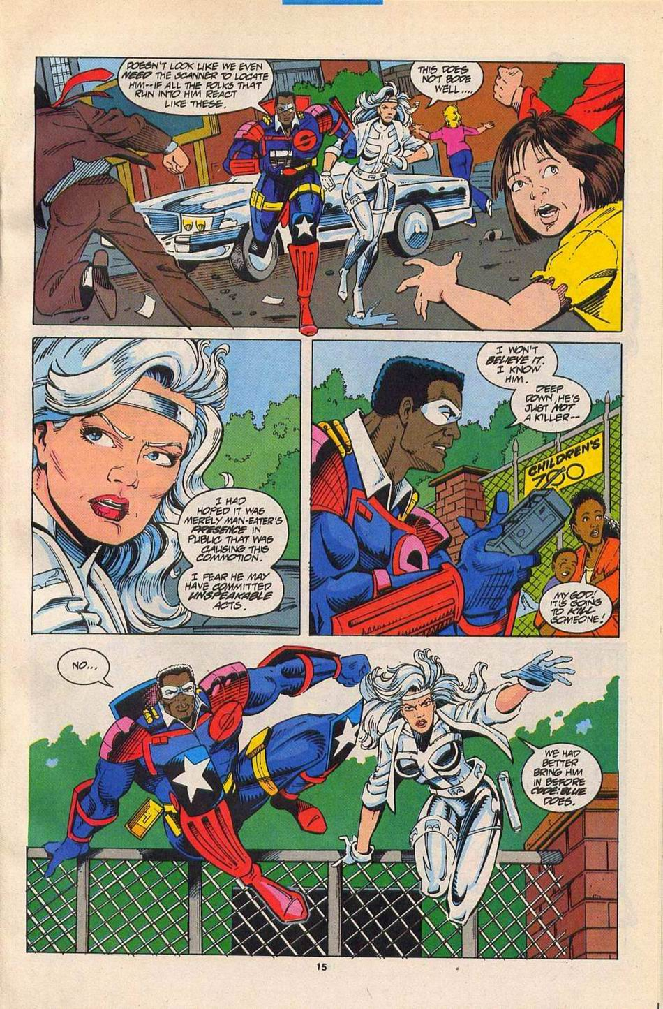 Read online Silver Sable and the Wild Pack comic -  Issue #27 - 12
