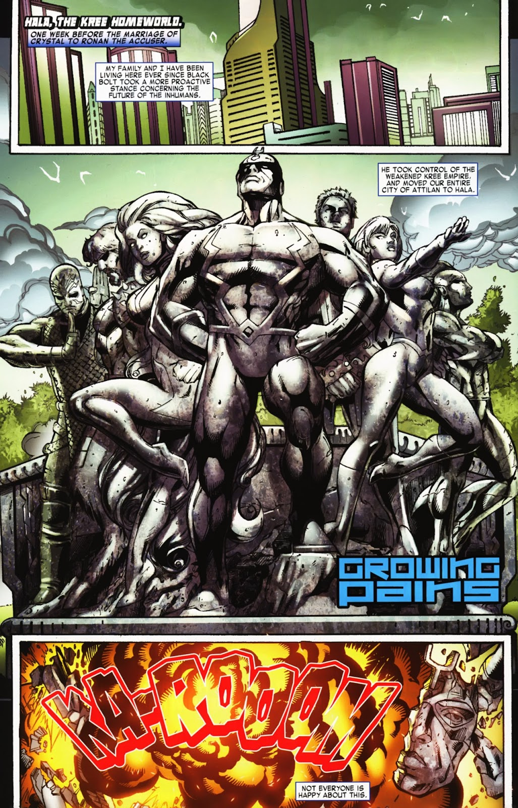 War of Kings: Warriors Issue #2 #2 - English 3