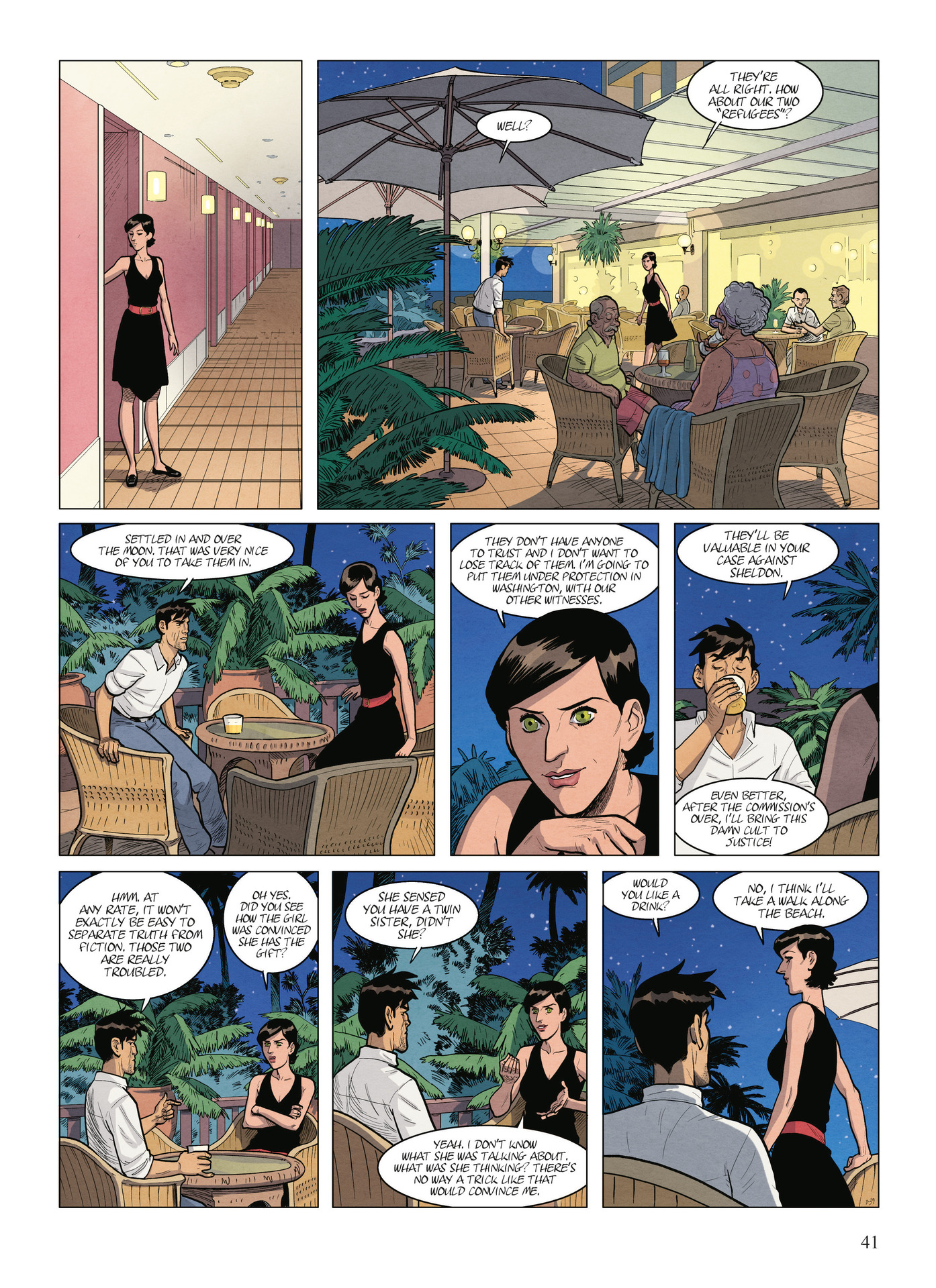 Read online Alter Ego comic -  Issue #9 - 43