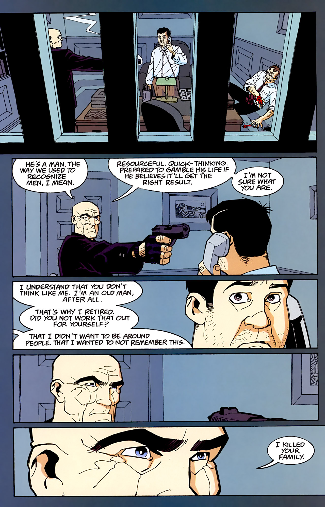 Read online Red comic -  Issue #3 - 14