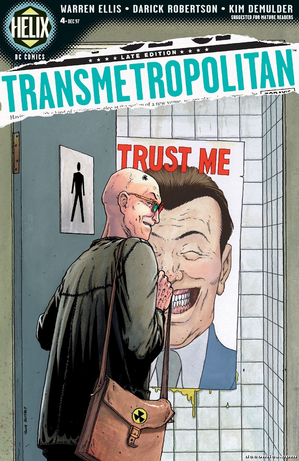Transmetropolitan 4 Page 1
