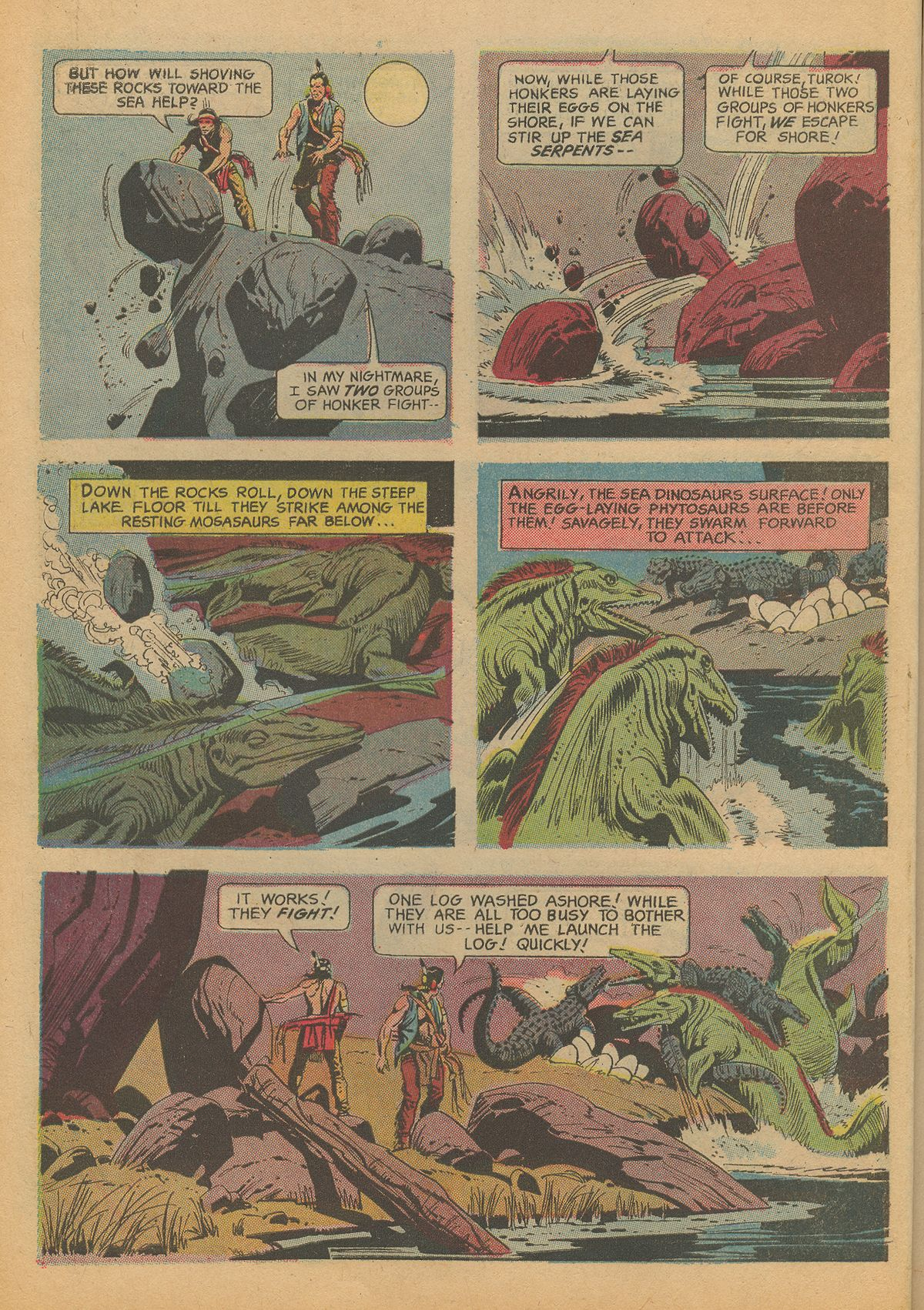 Read online Turok, Son of Stone comic -  Issue #60 - 10