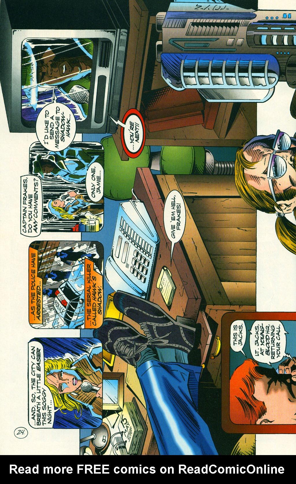 Read online ShadowHawk comic -  Issue #6 - 31