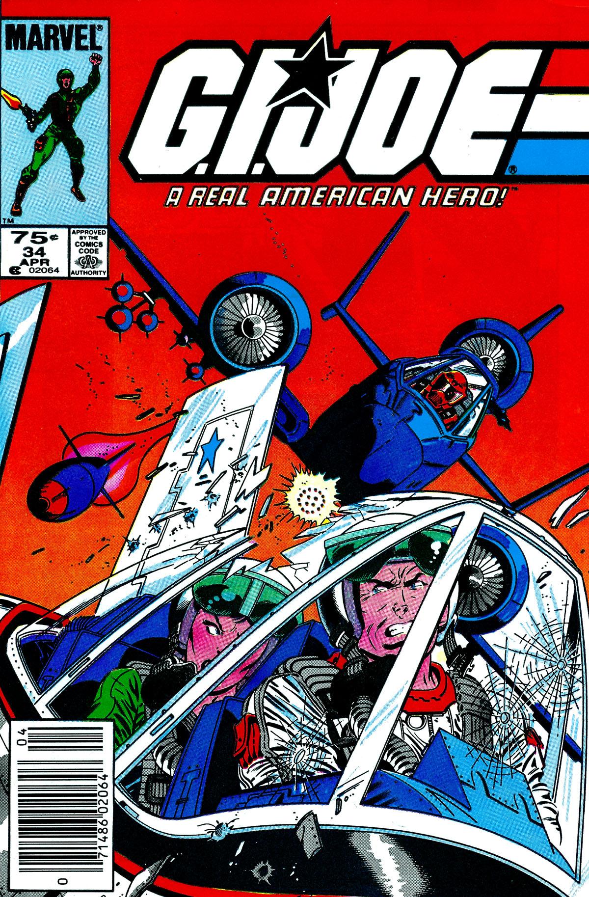 G.I. Joe: A Real American Hero 34 Page 1