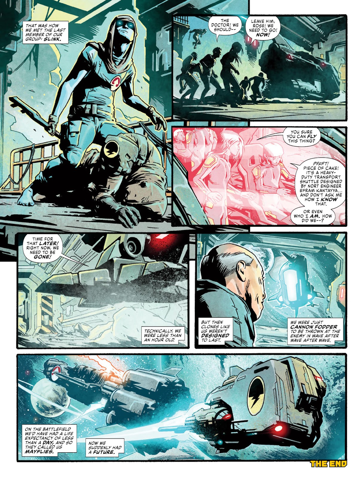2000 AD issue 2220 - Page 50
