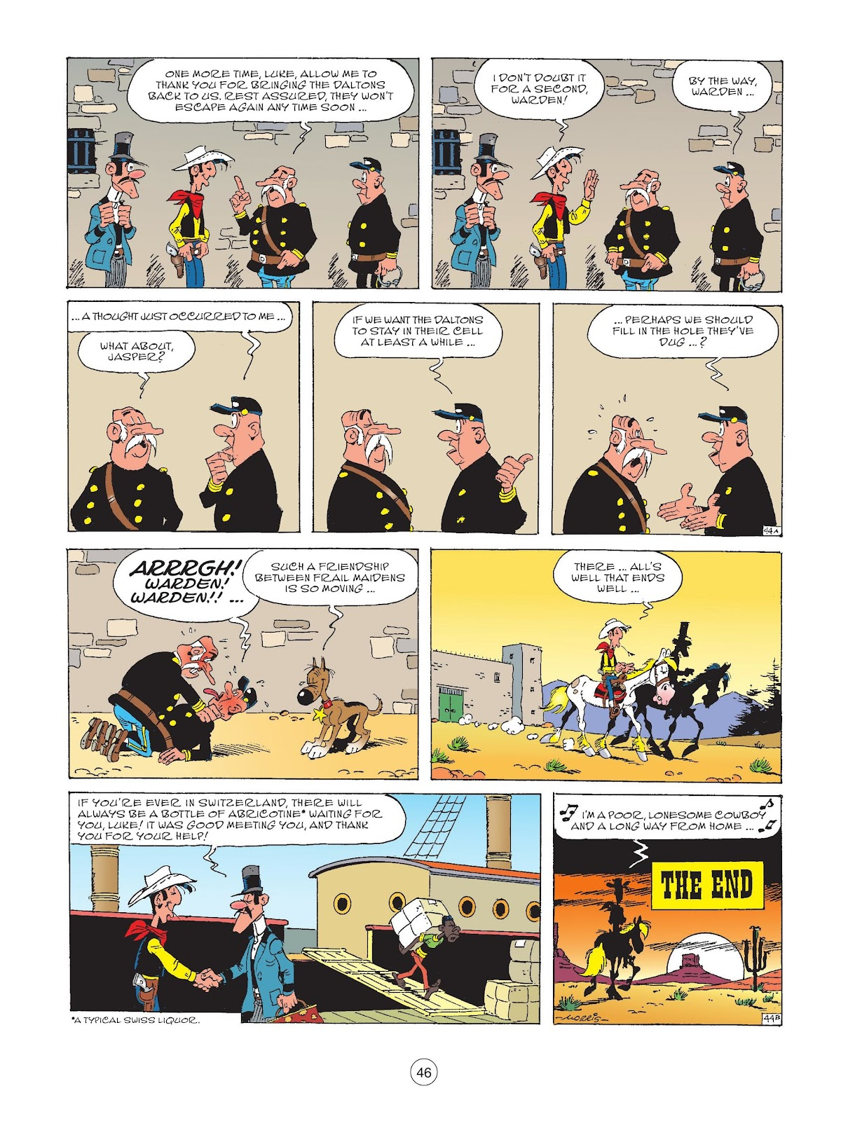 A Lucky Luke Adventure issue 72 - Page 48