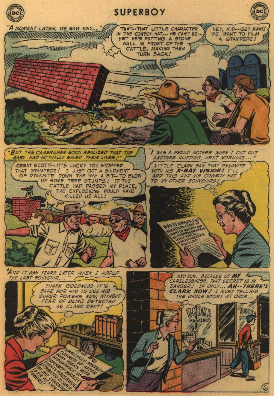 Superboy (1949) issue 51 - Page 7