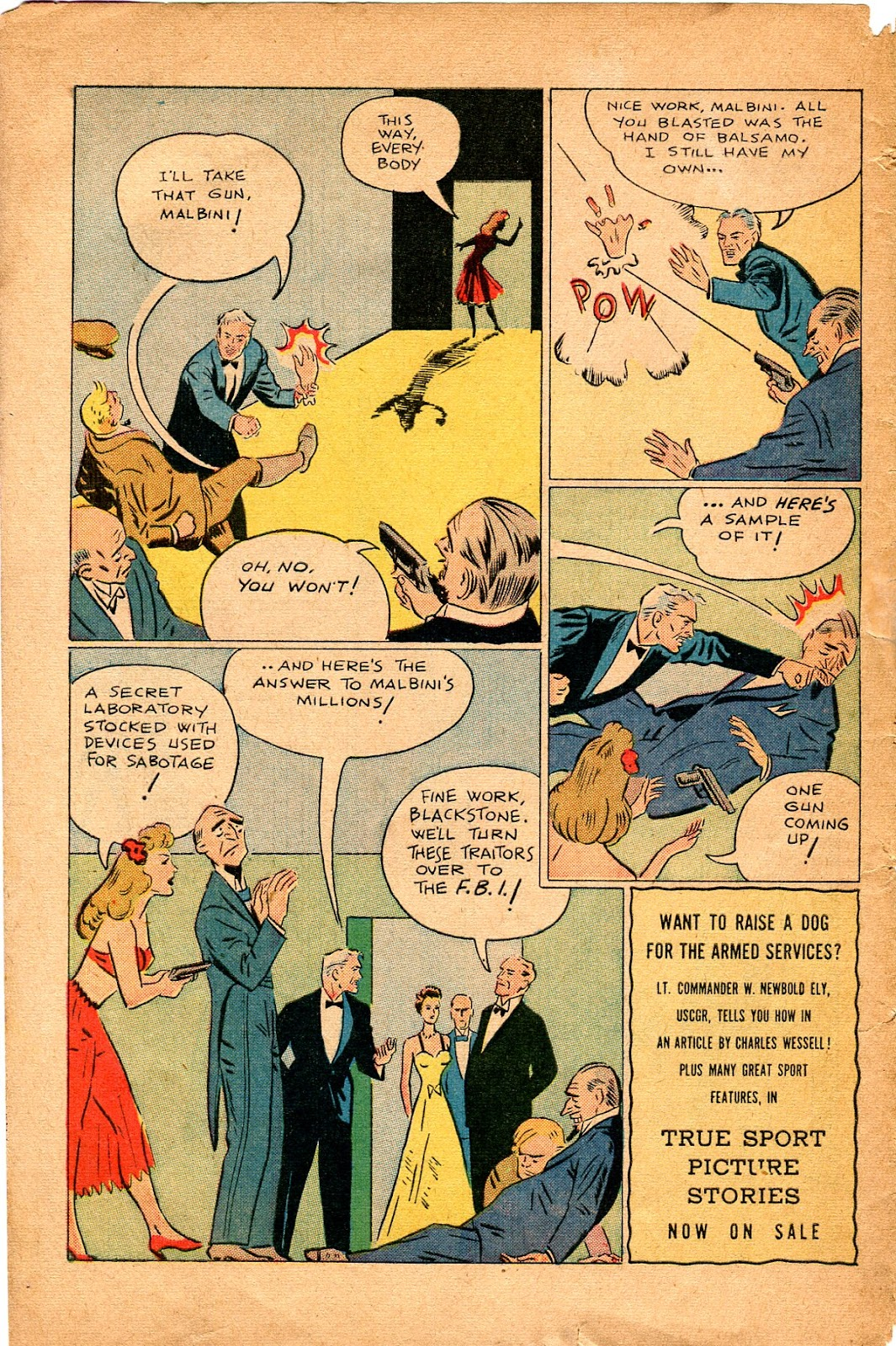 Read online Super-Magician Comics comic -  Issue #34 - 50