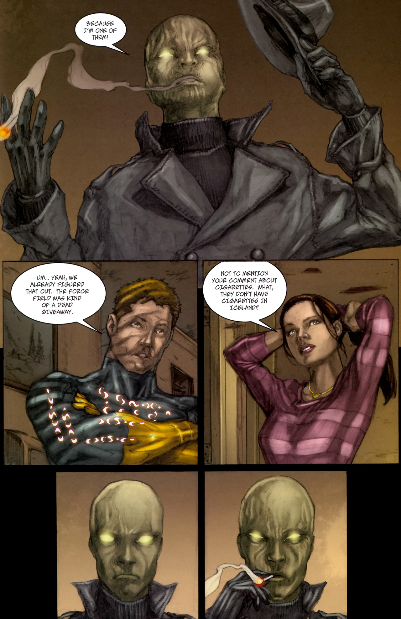 Read online Phoenix comic -  Issue #3 - 18