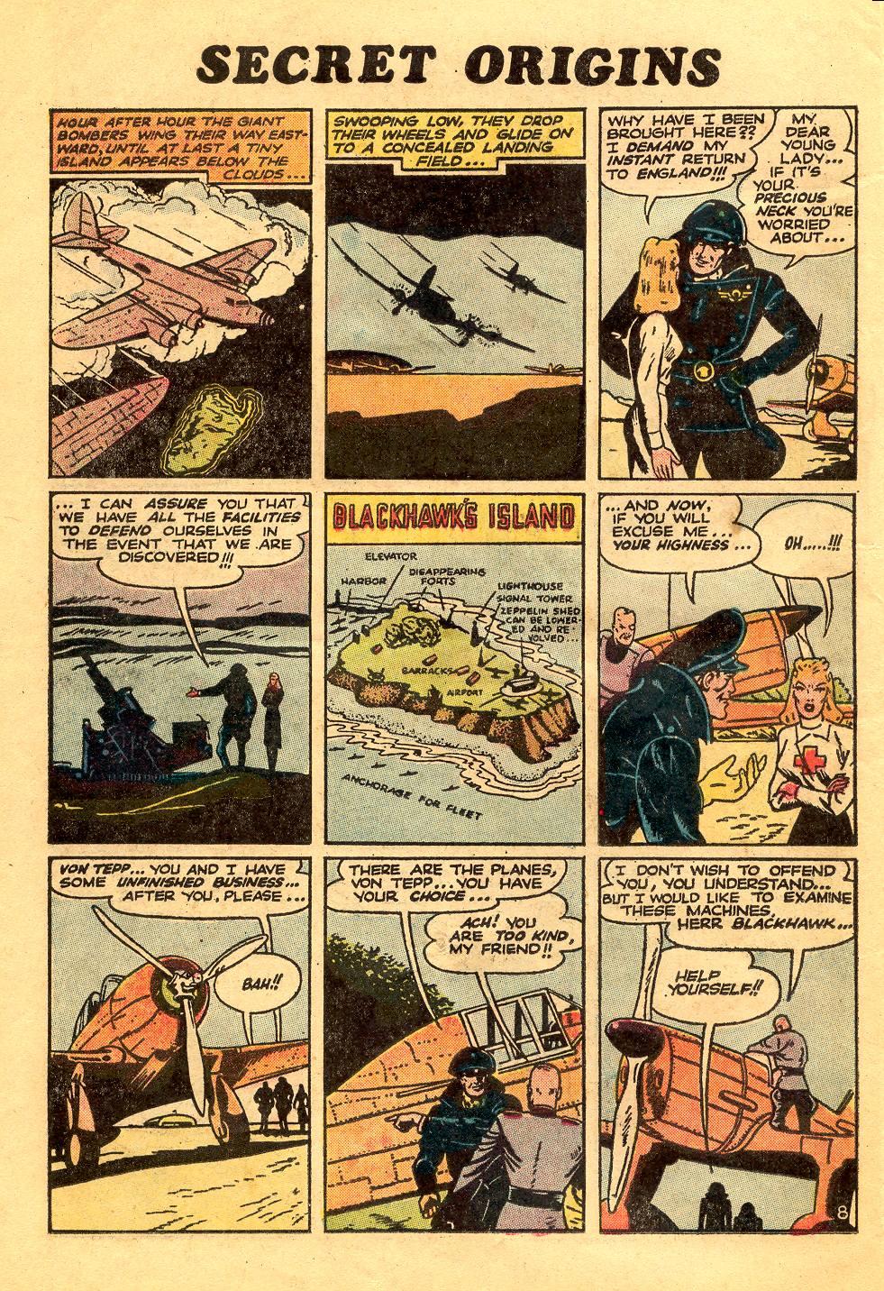 Read online Secret Origins (1973) comic -  Issue #6 - 26