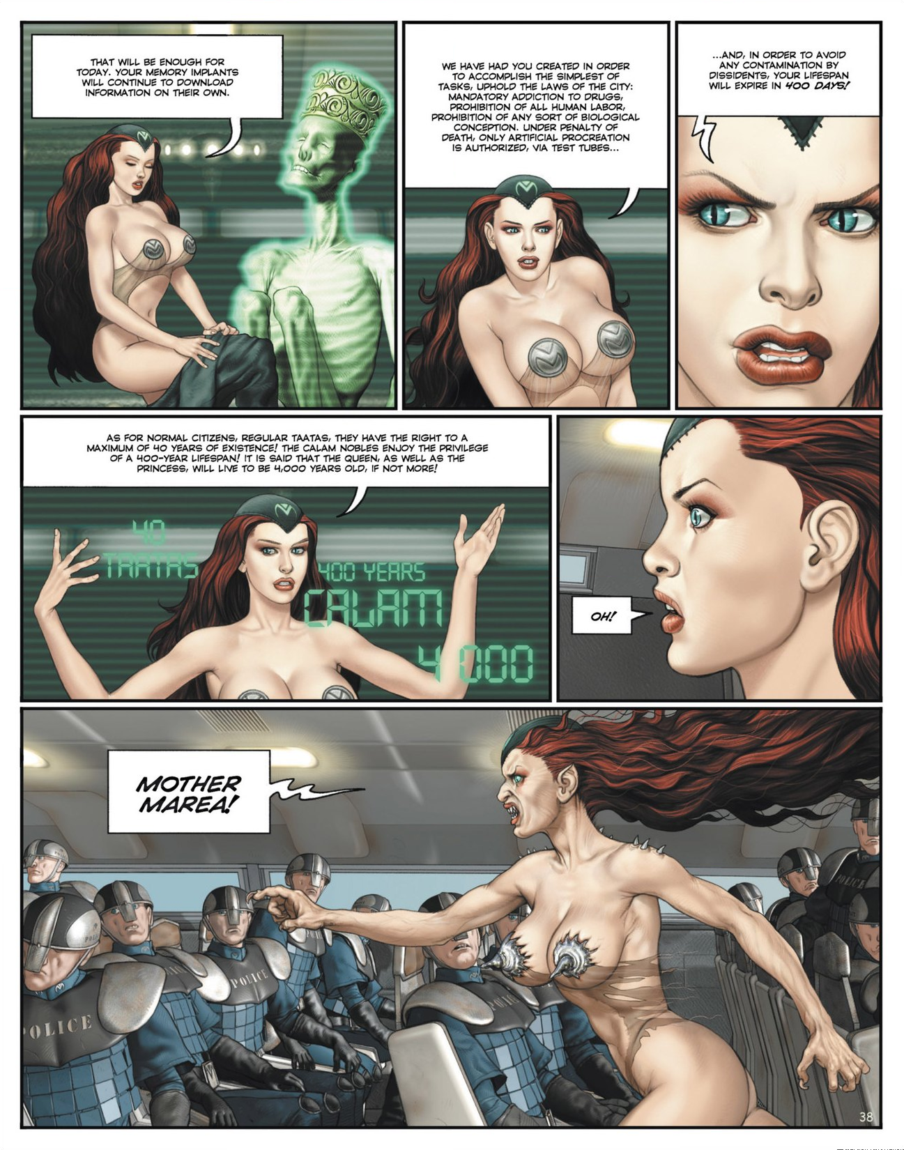 Read online Megalex (2014) comic -  Issue #1 - 43