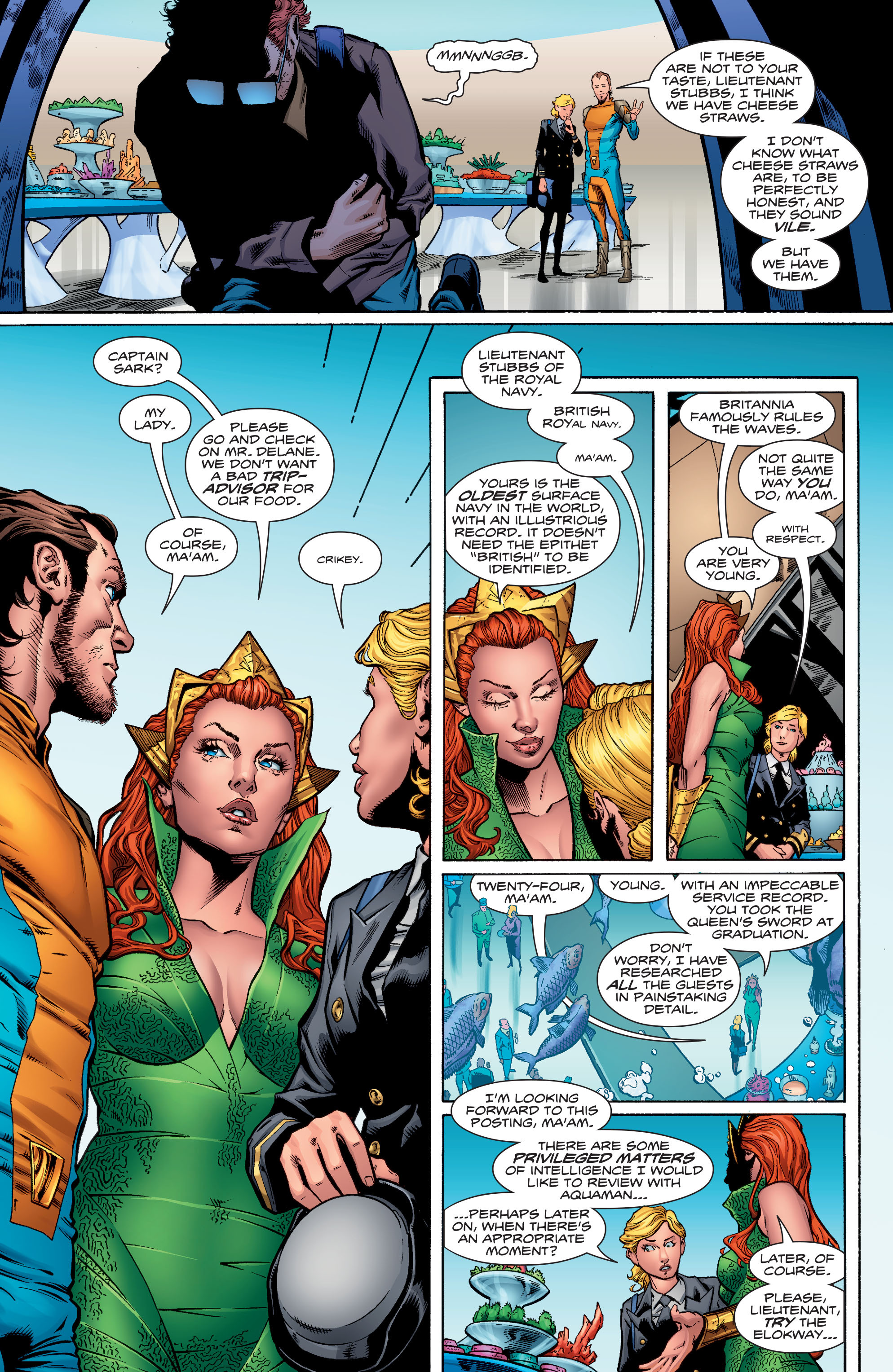 Read online Aquaman (2016) comic -  Issue #1 - 14