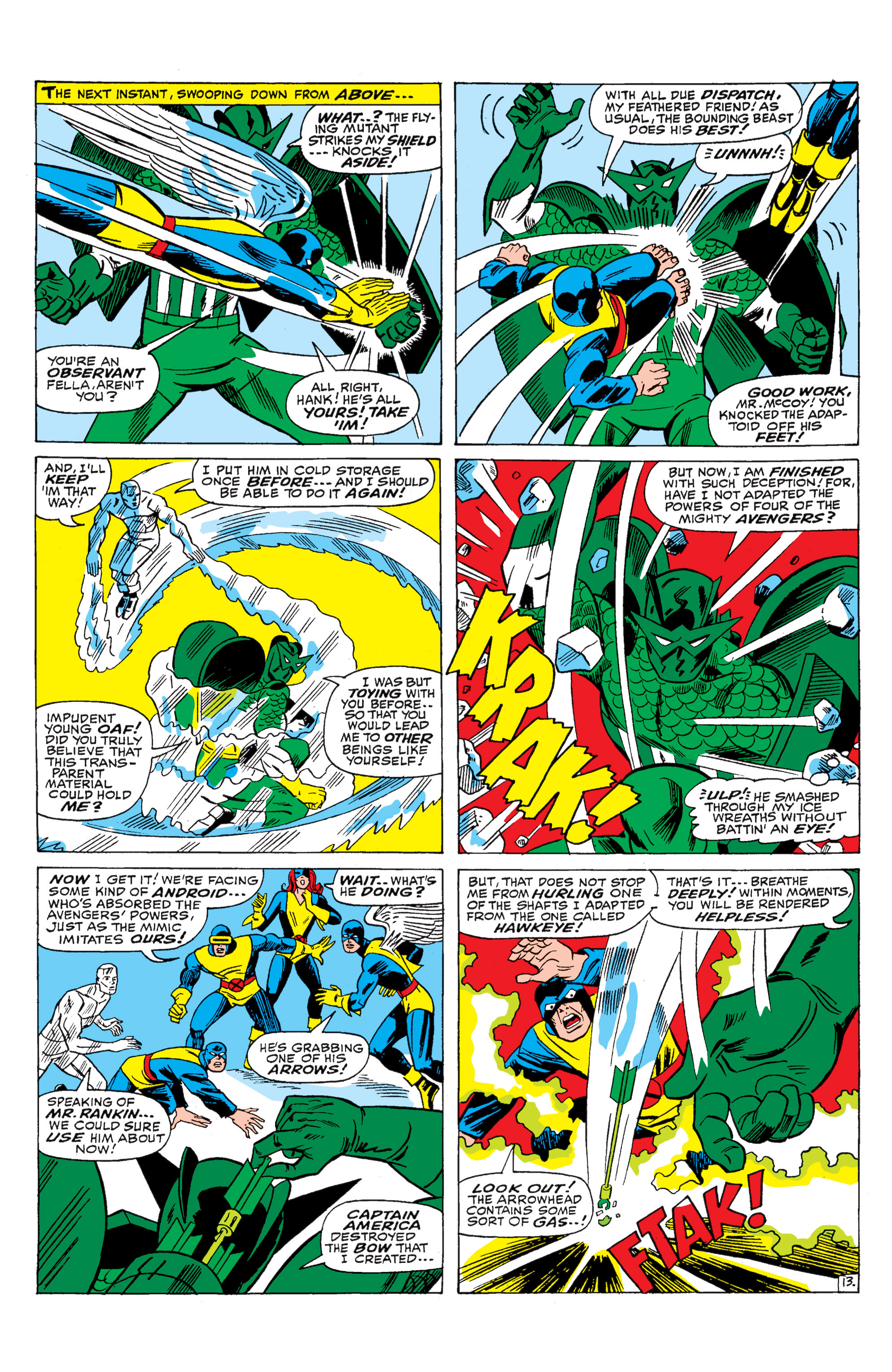 Read online Uncanny X-Men (1963) comic -  Issue #29 - 14