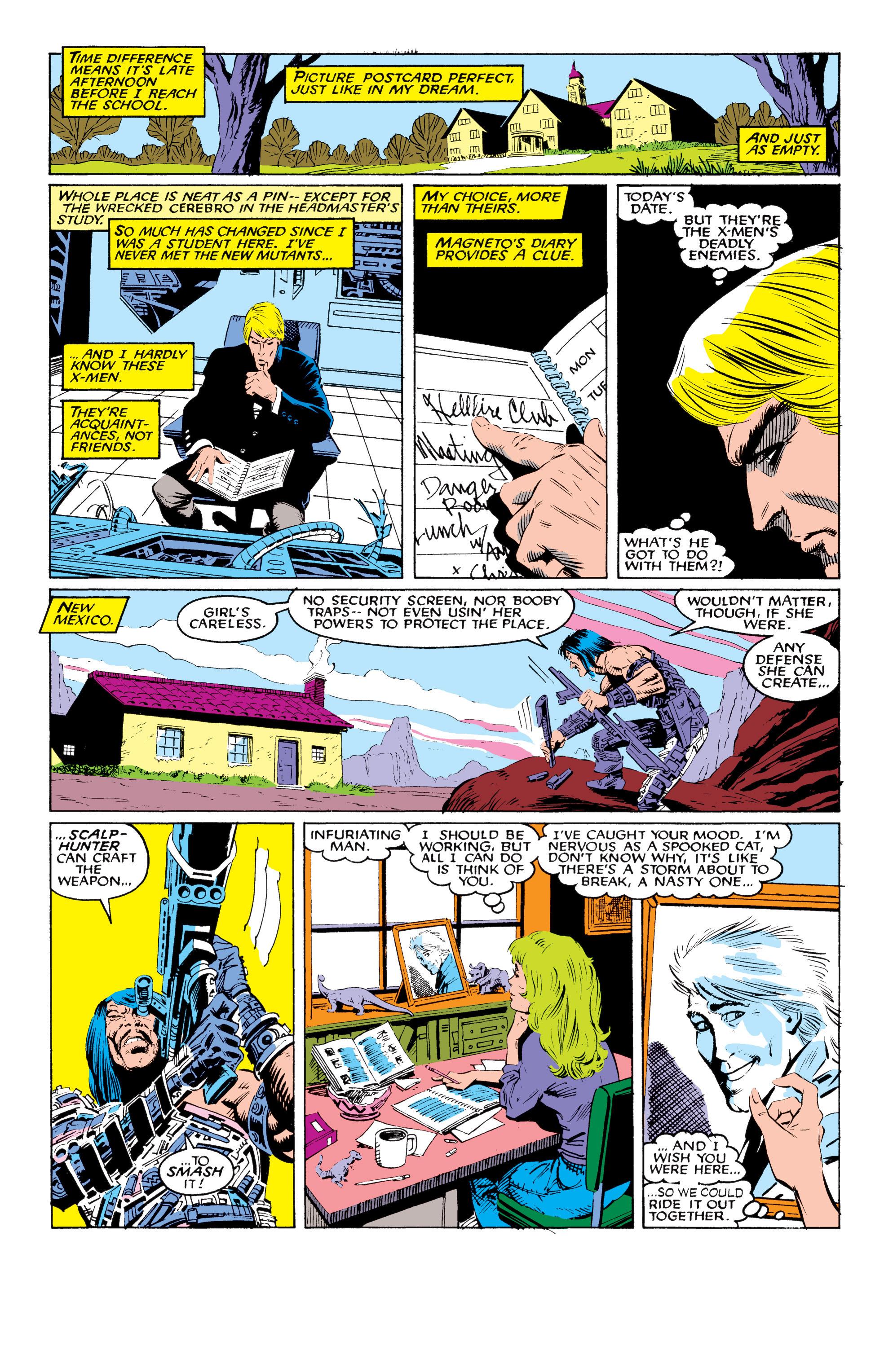 Read online Uncanny X-Men (1963) comic -  Issue #219 - 9
