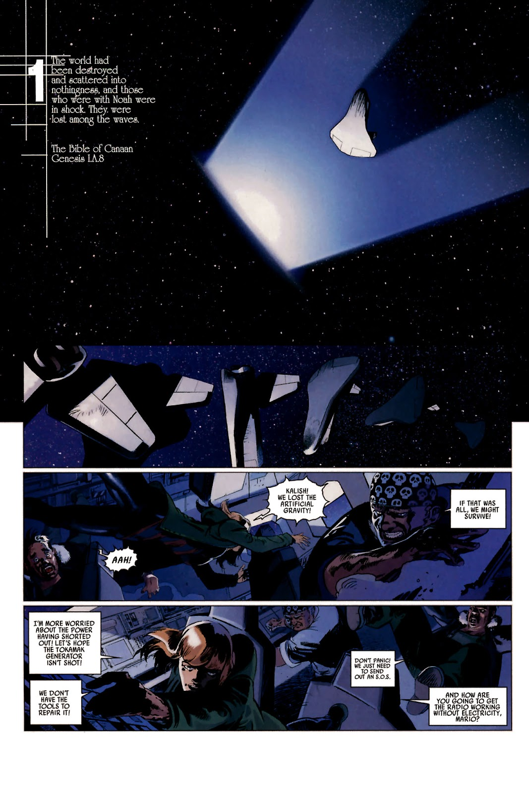 Read online Universal War One: Revelations comic -  Issue #2 - 8