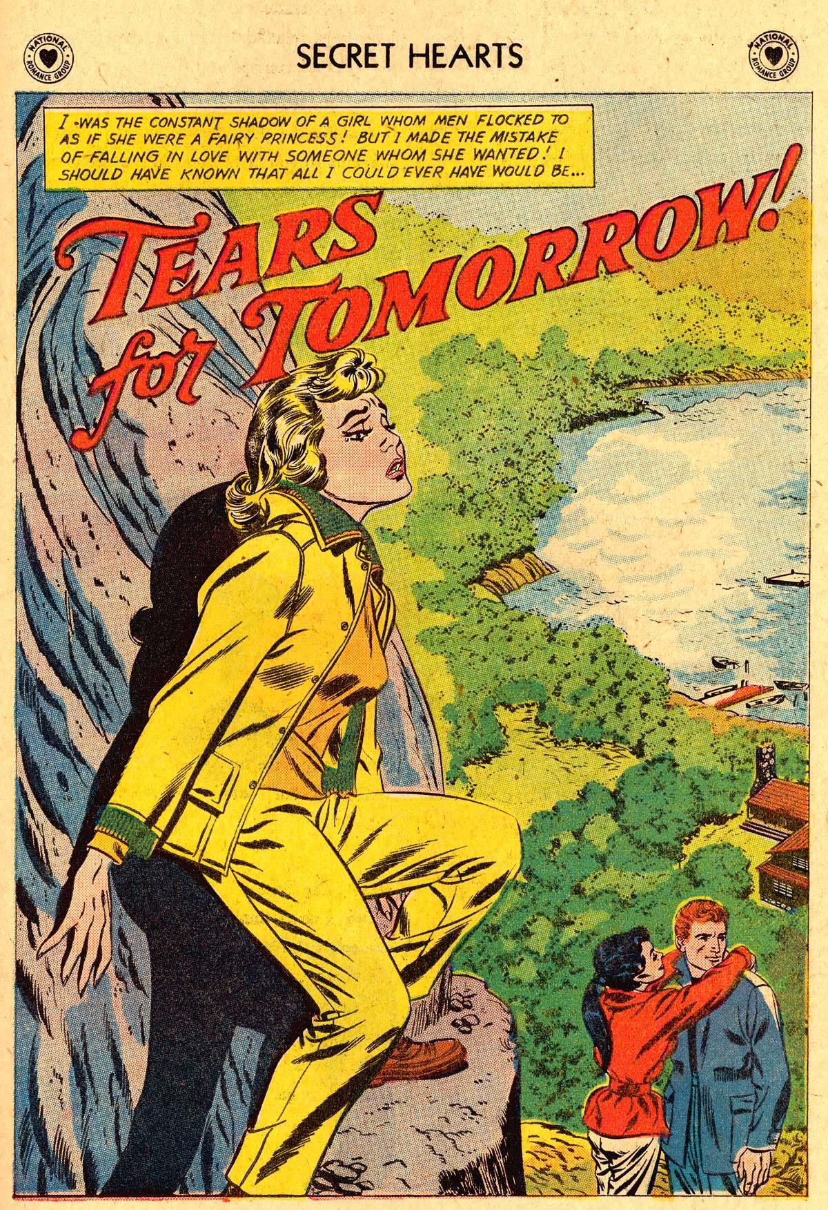 Read online Secret Hearts comic -  Issue #60 - 27
