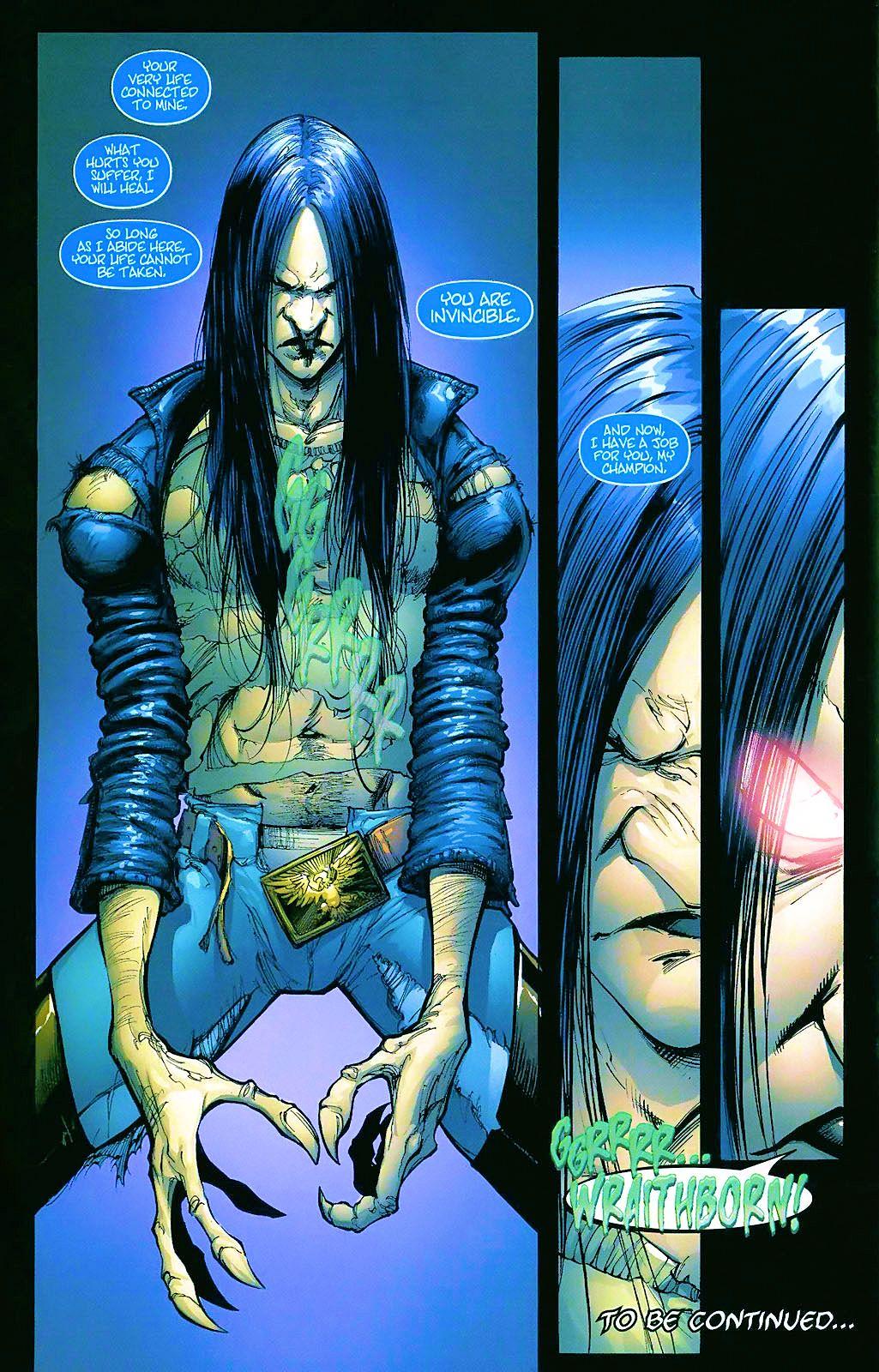 Read online Wraithborn comic -  Issue #4 - 24