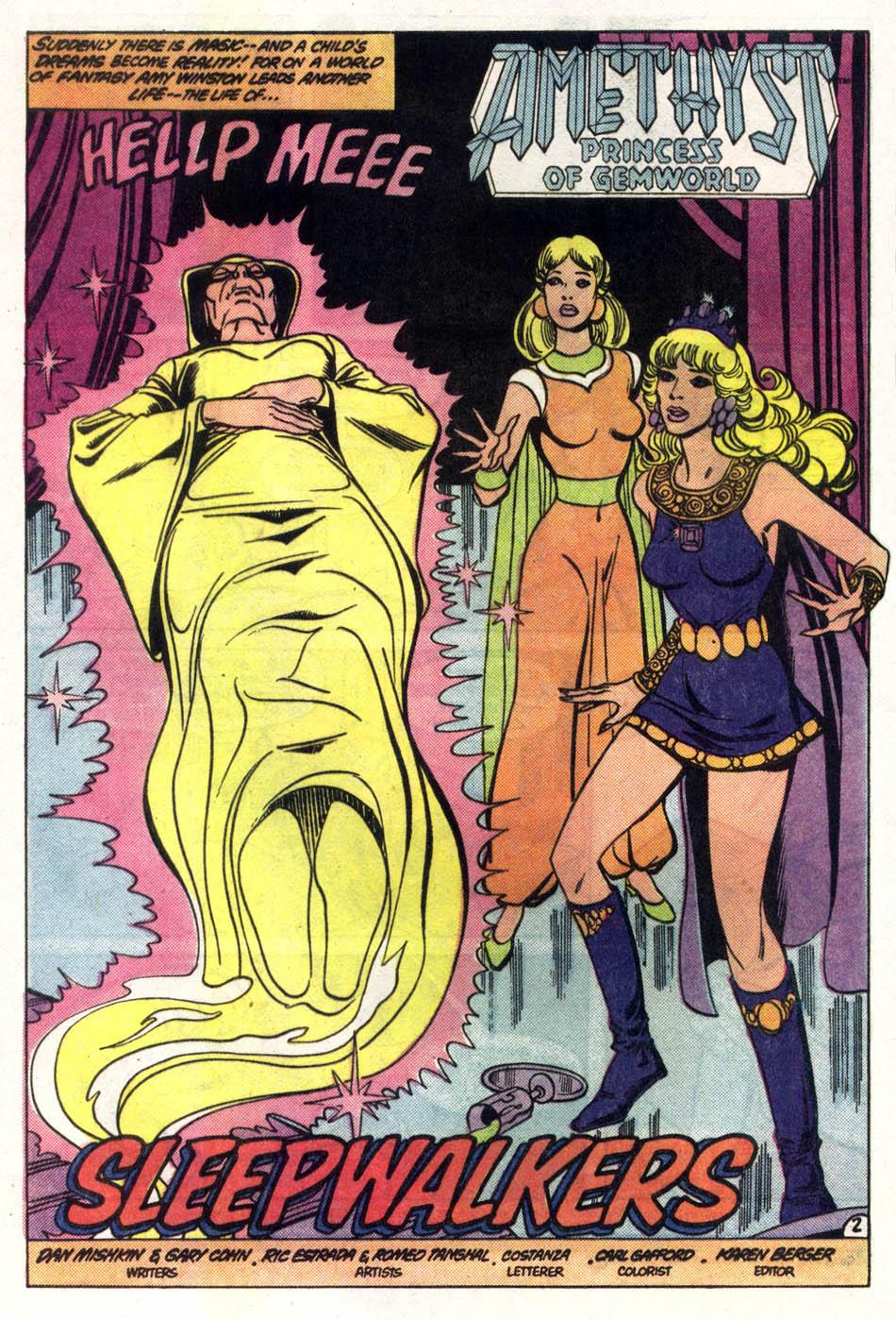 Read online Amethyst (1985) comic -  Issue #2 - 3