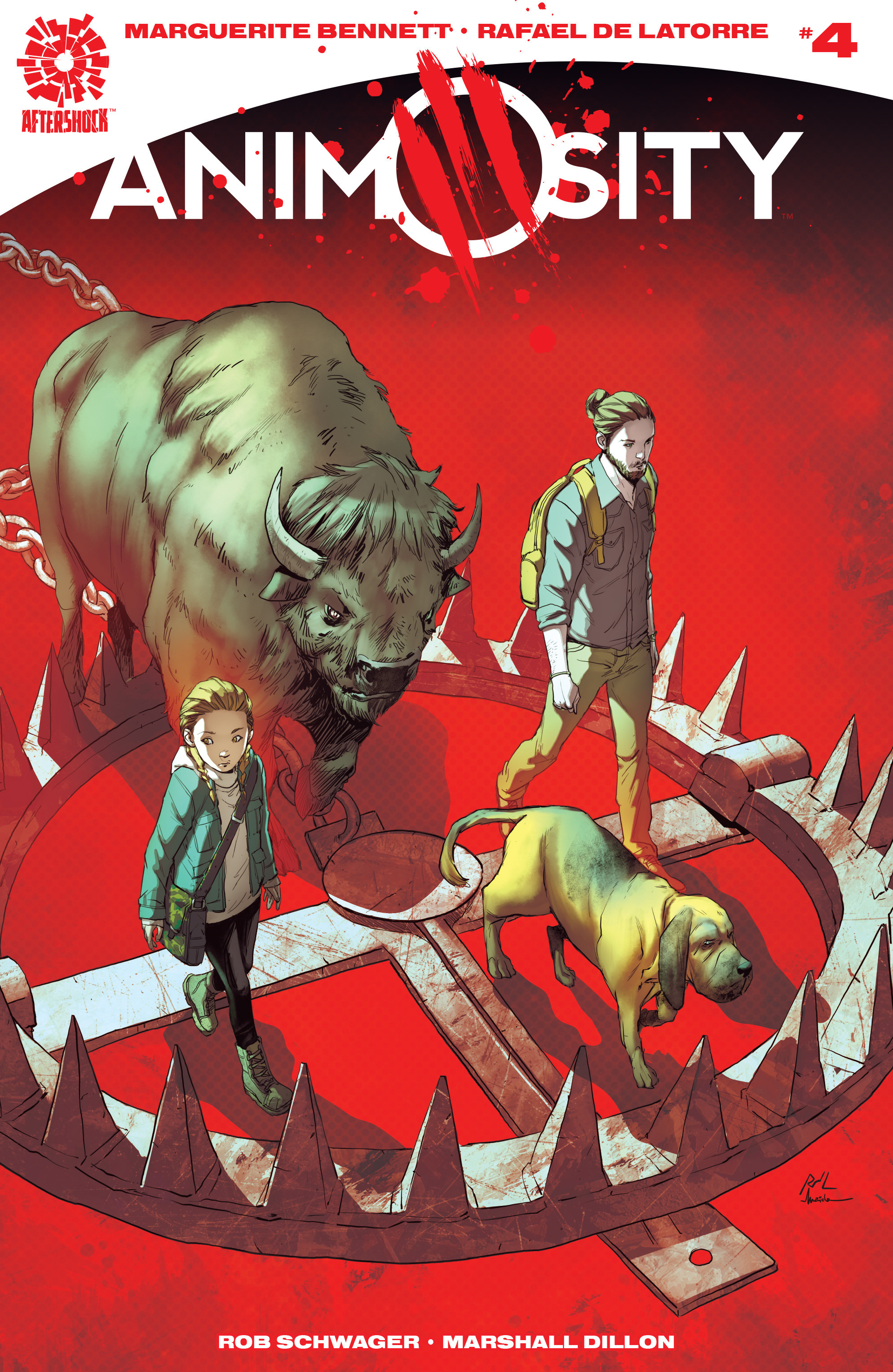 Read online Animosity comic -  Issue #4 - 1