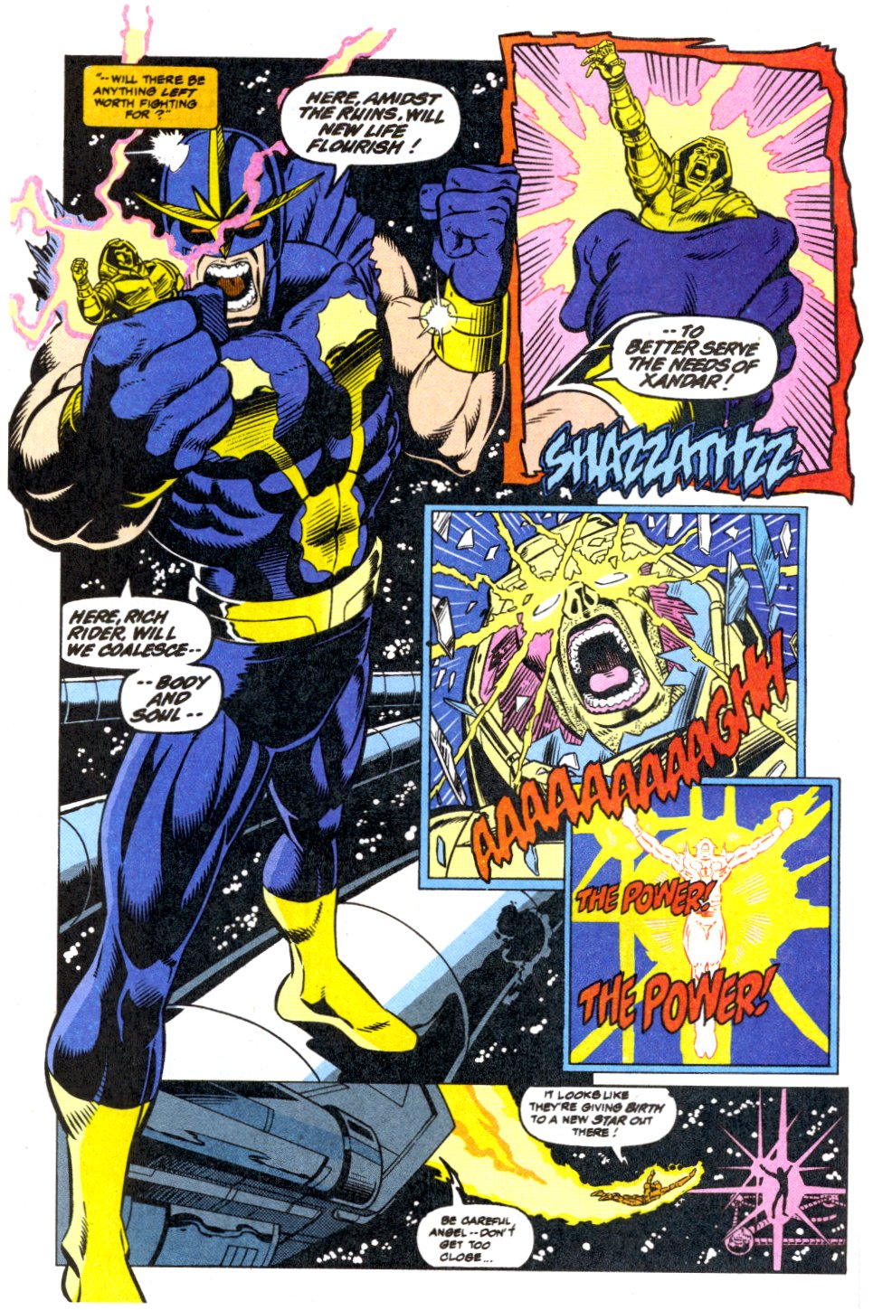 The New Warriors Issue #42 #46 - English 8