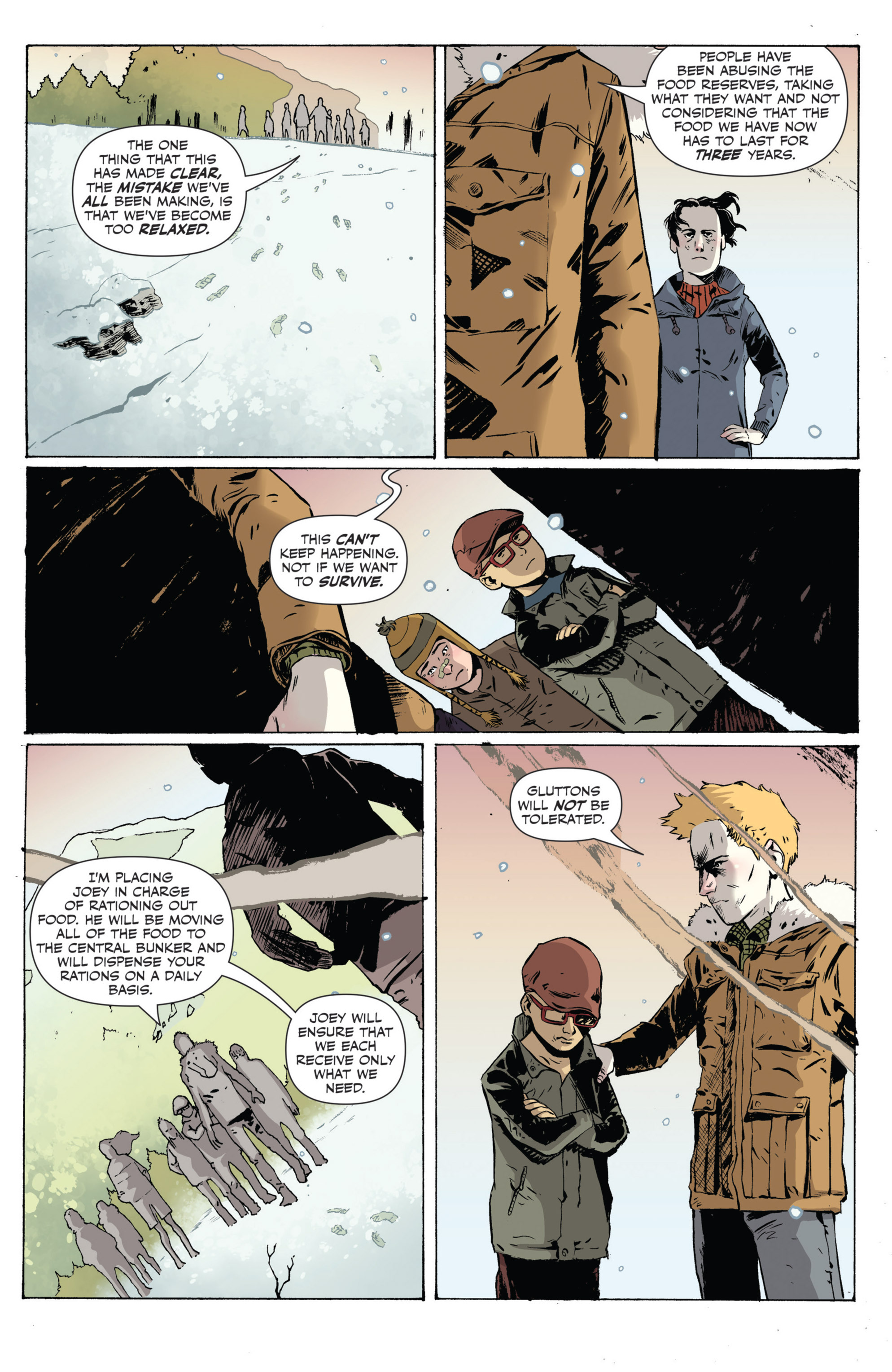 Read online Sheltered comic -  Issue #5 - 6