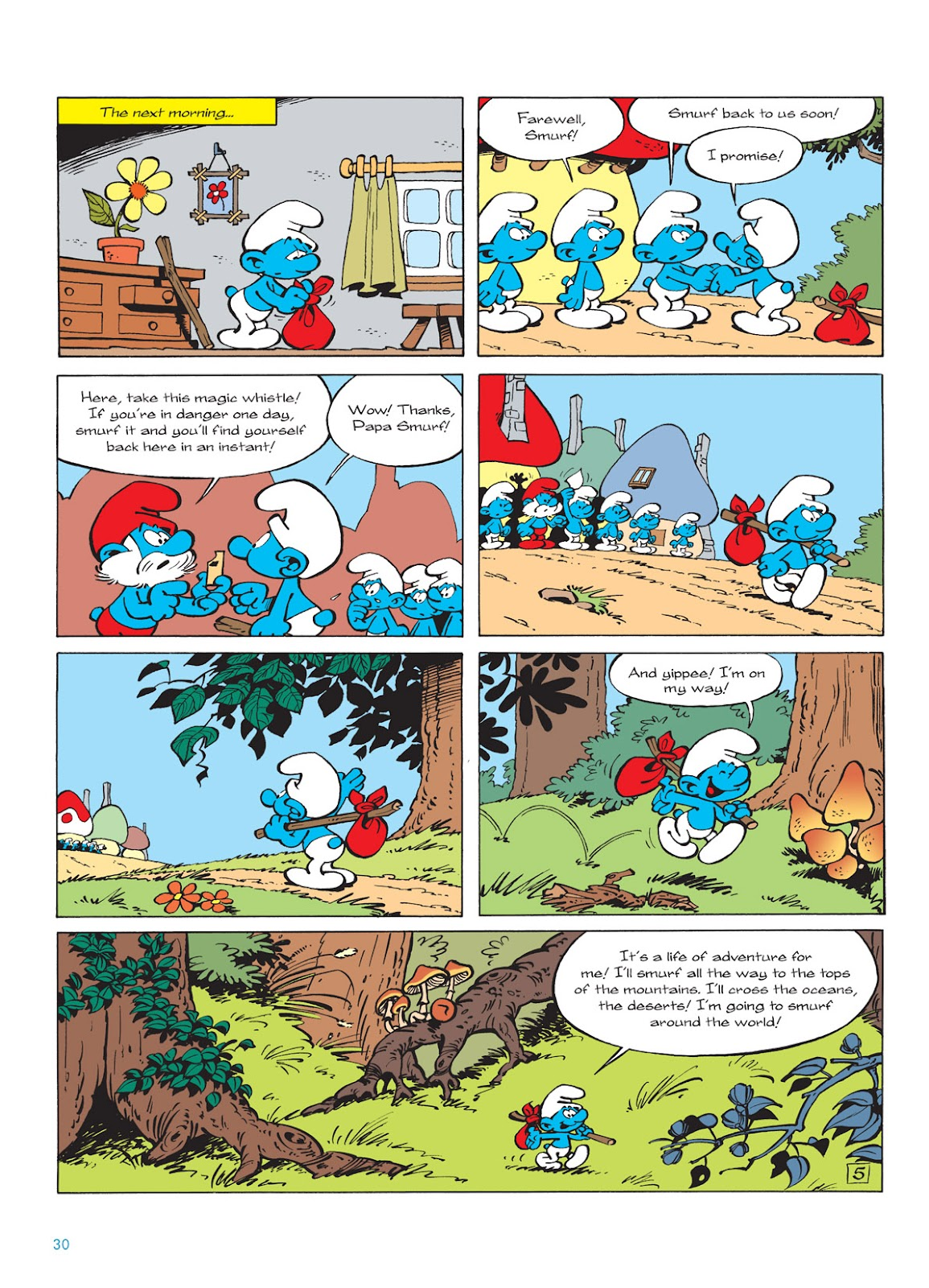 Read online The Smurfs comic -  Issue #9 - 30