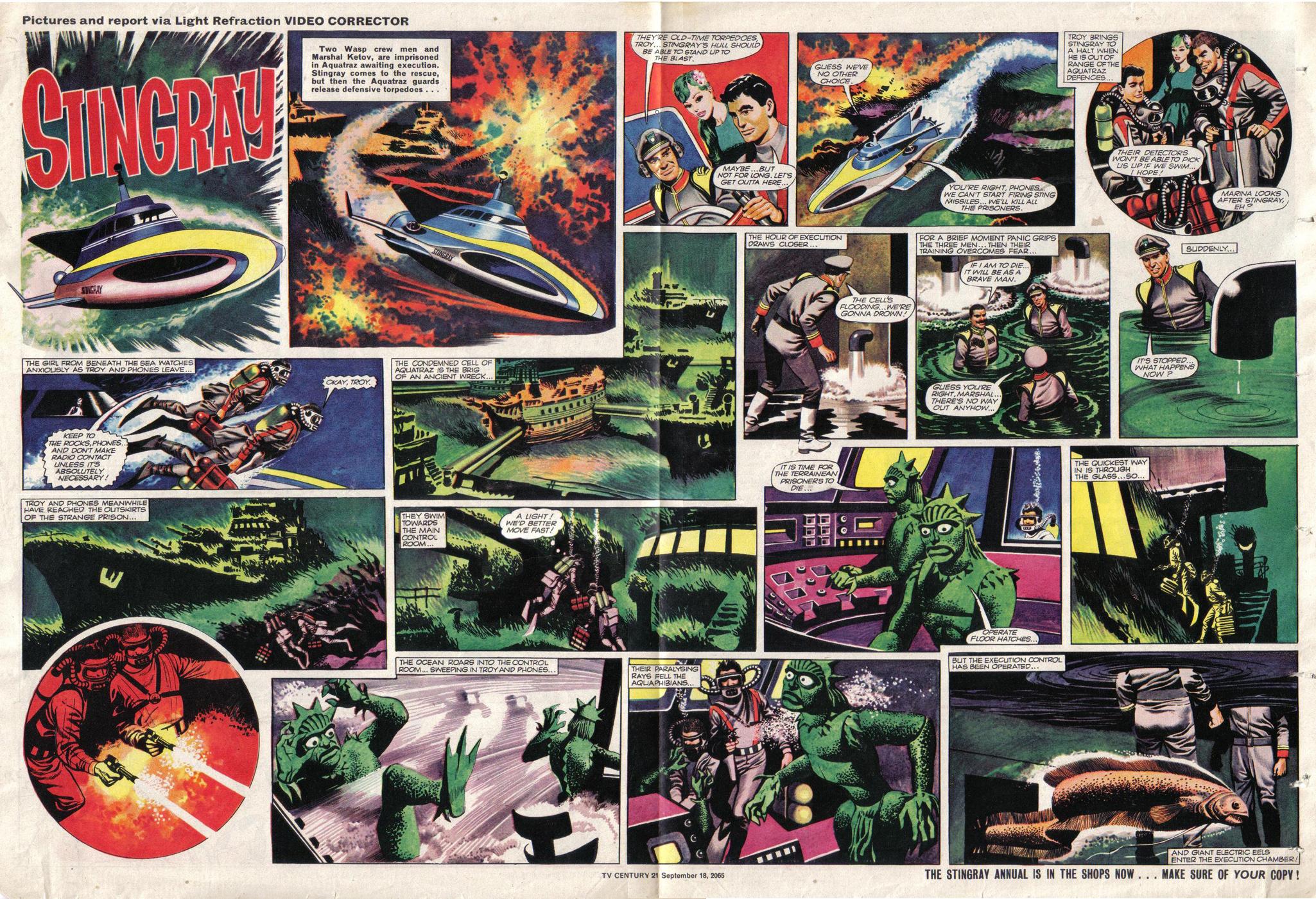 Read online TV Century 21 (TV 21) comic -  Issue #35 - 10