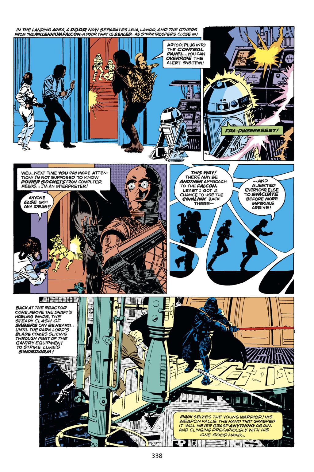 Read online Star Wars Omnibus comic -  Issue # Vol. 14 - 336