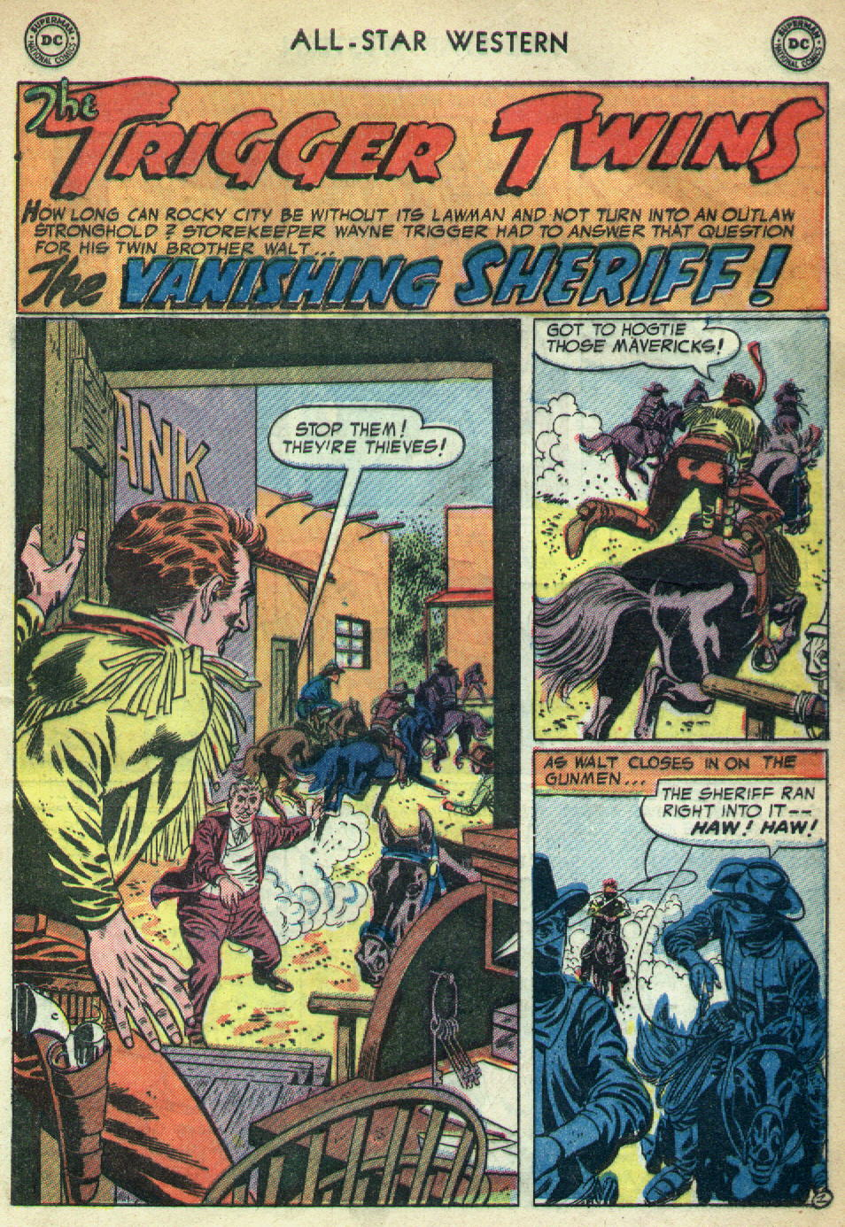 Read online All-Star Western (1951) comic -  Issue #79 - 29