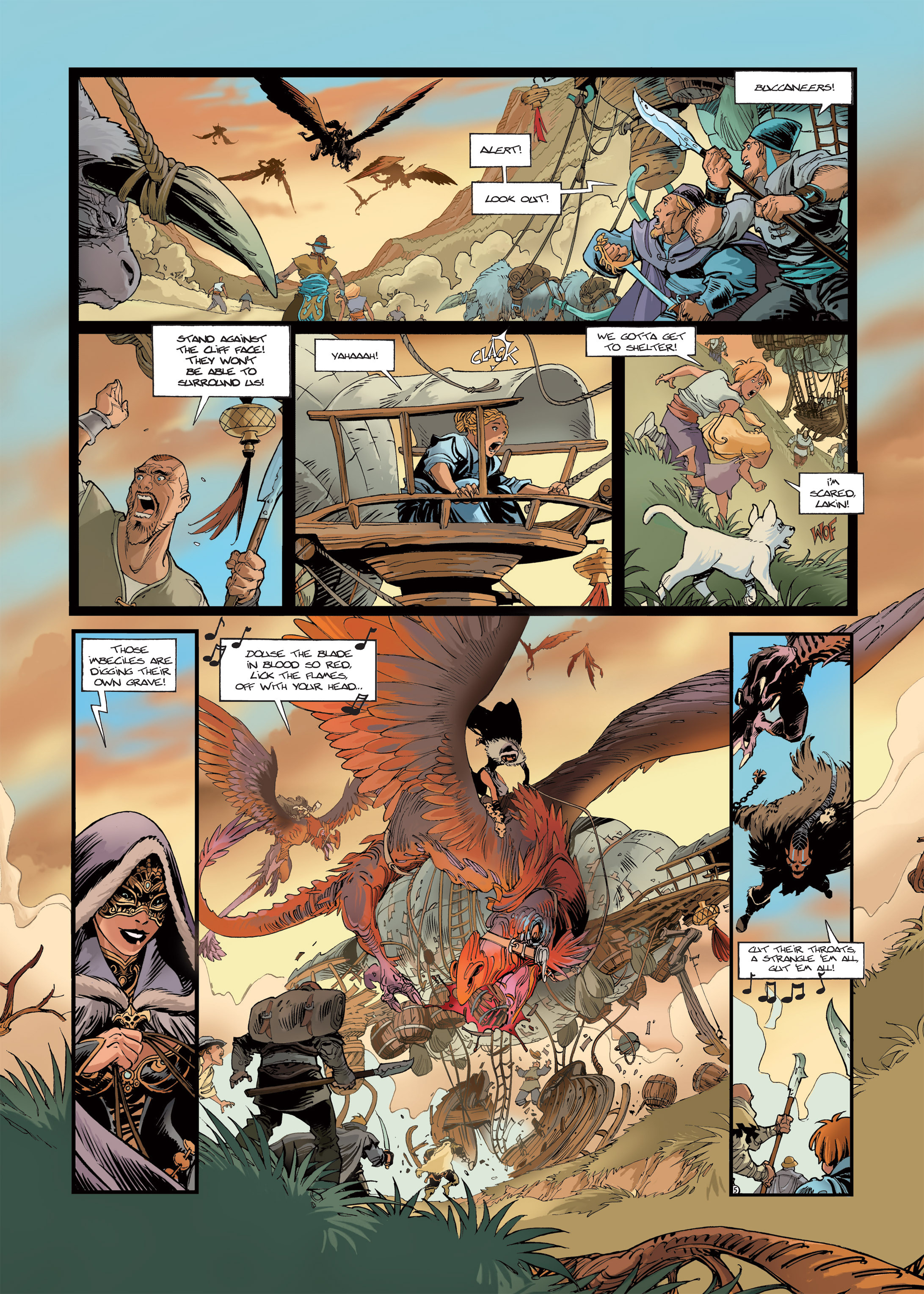 Read online Sangre Vol. 1: Sangre the Survivor comic -  Issue # Full - 7