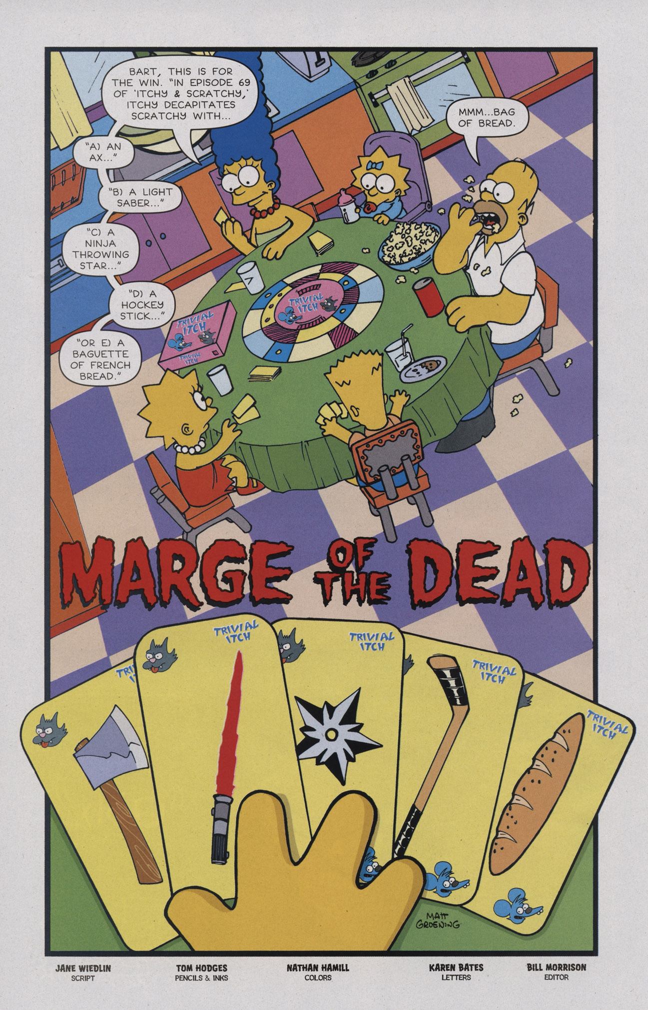 Read online Treehouse of Horror comic -  Issue #17 - 17