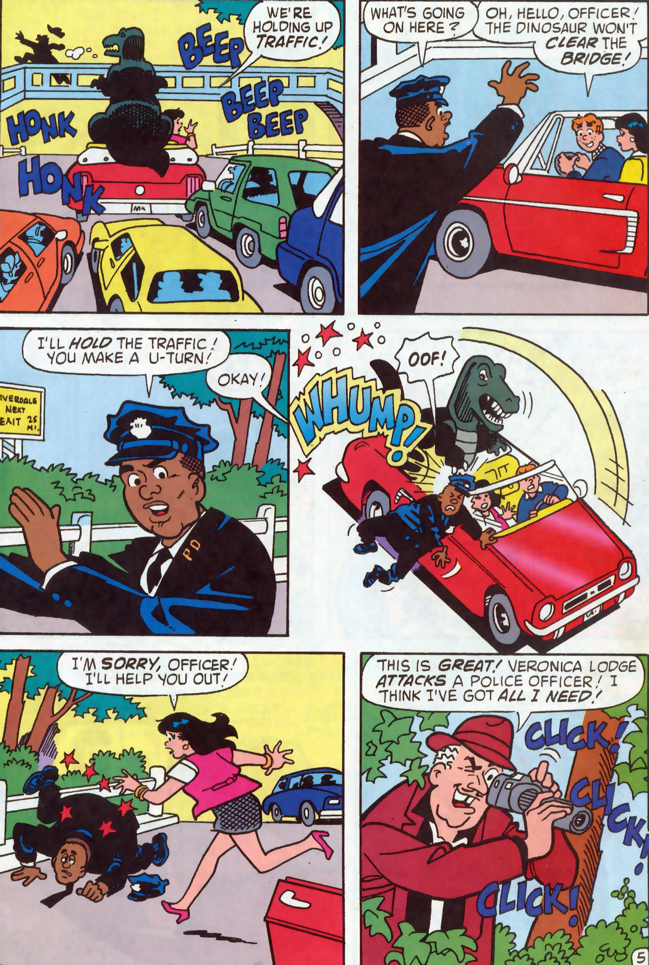 Read online Archie (1960) comic -  Issue #437 - 6