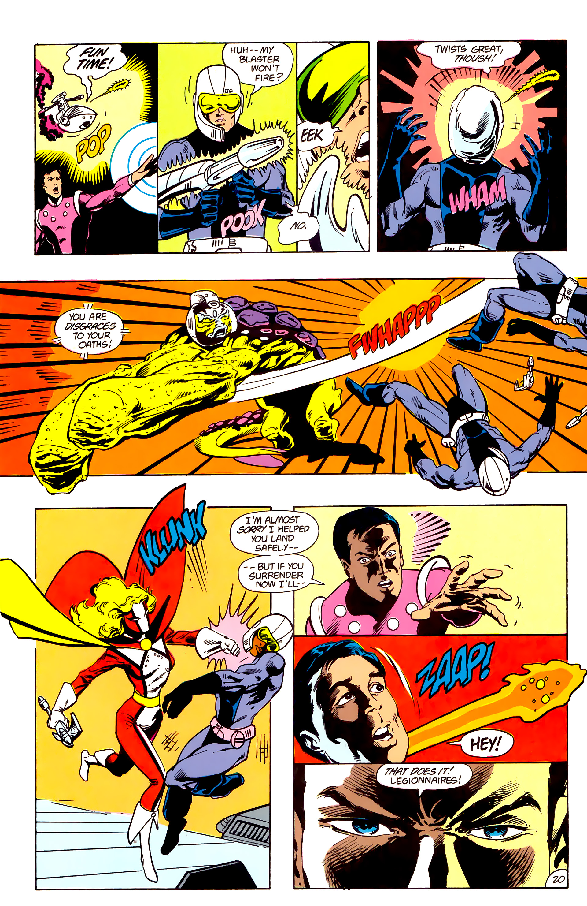 Legion of Super-Heroes (1984) 16 Page 21