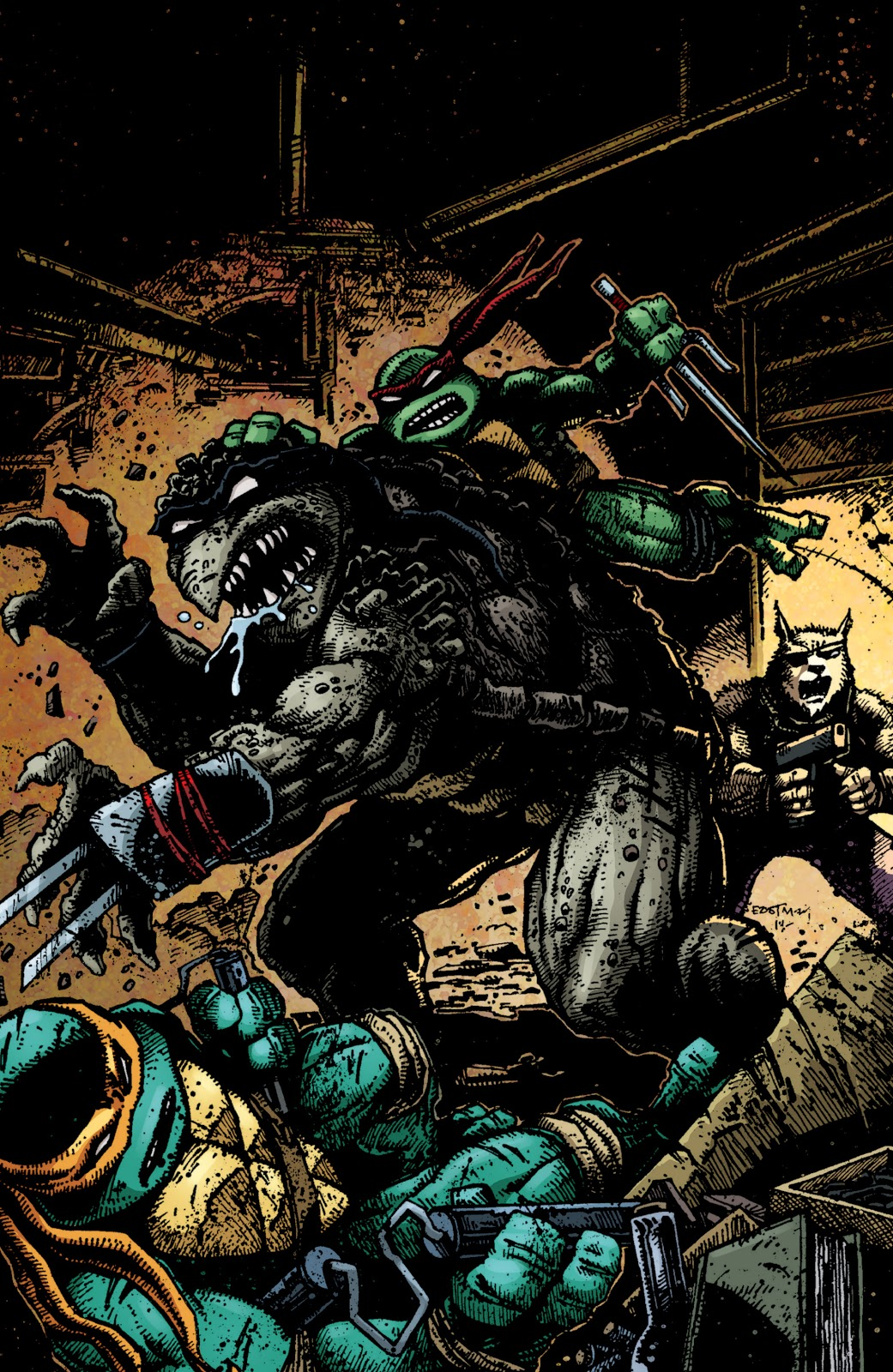 Read online Teenage Mutant Ninja Turtles: The IDW Collection comic -  Issue # TPB 4 (Part 3) - 122