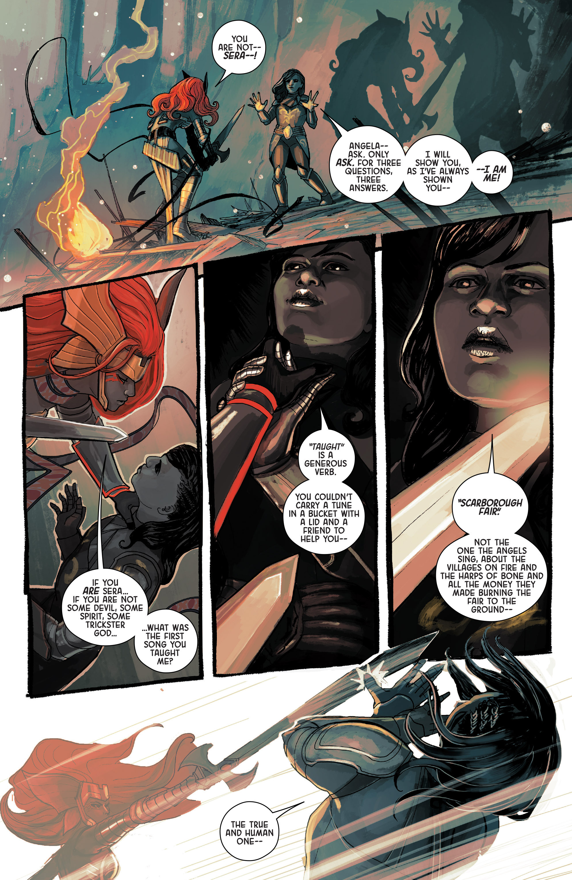 Read online Angela: Asgard's Assassin comic -  Issue #4 - 15